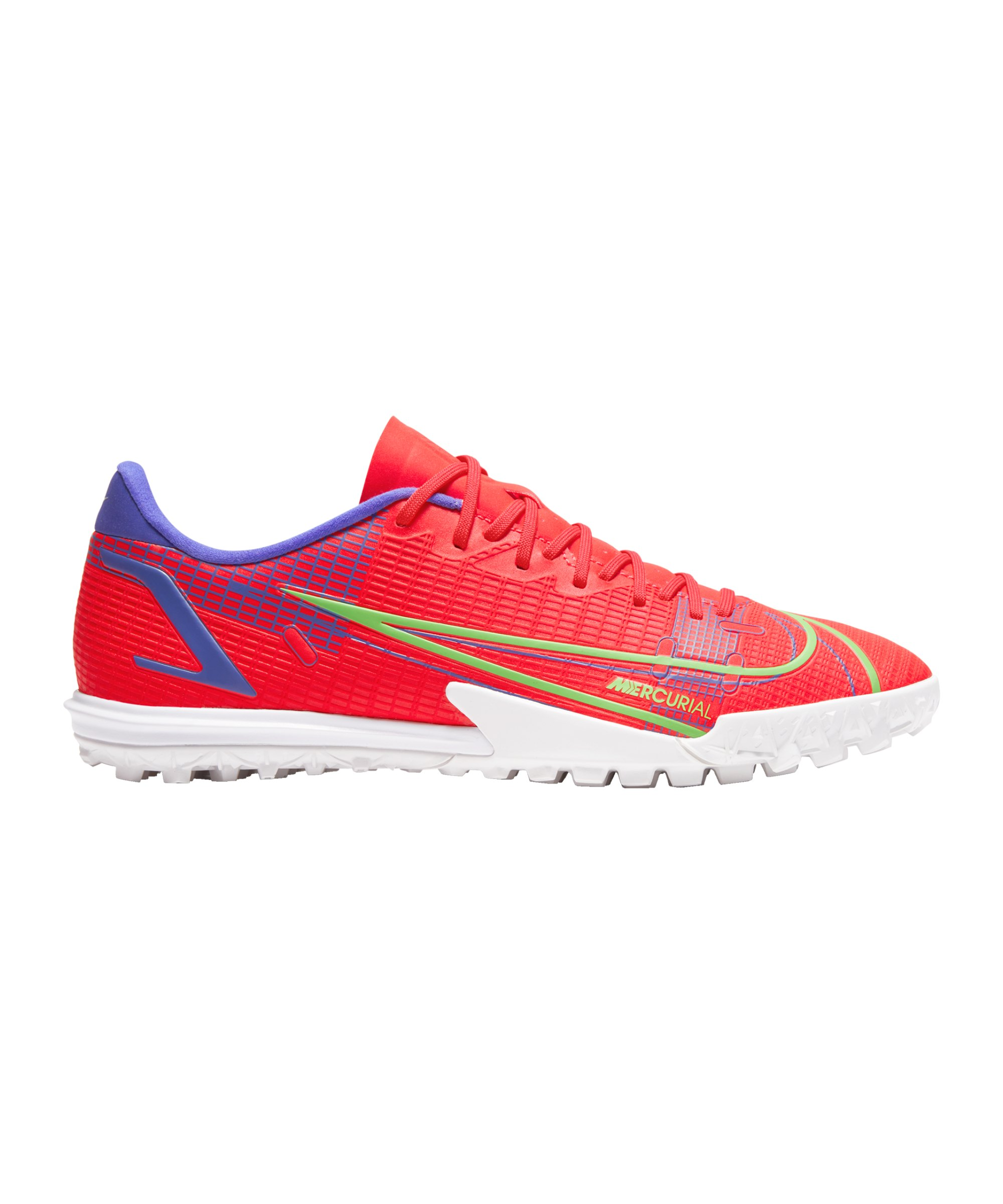 Nike Mercurial Vapor XIV Spectrum Academy TF Rot F600 - rot