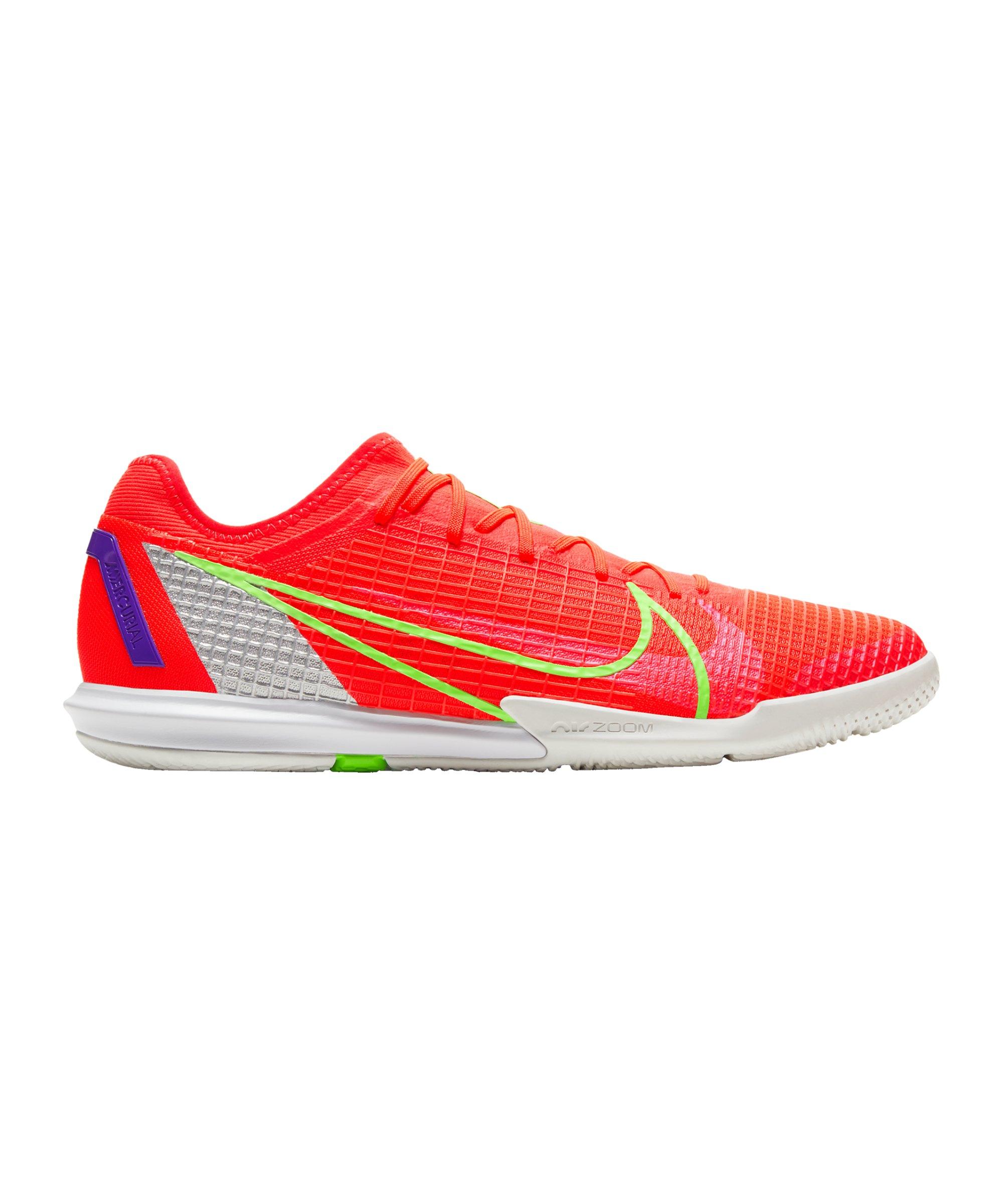Nike Mercurial Zoom Vapor XIV Spectrum Pro IC Rot F600 - rot