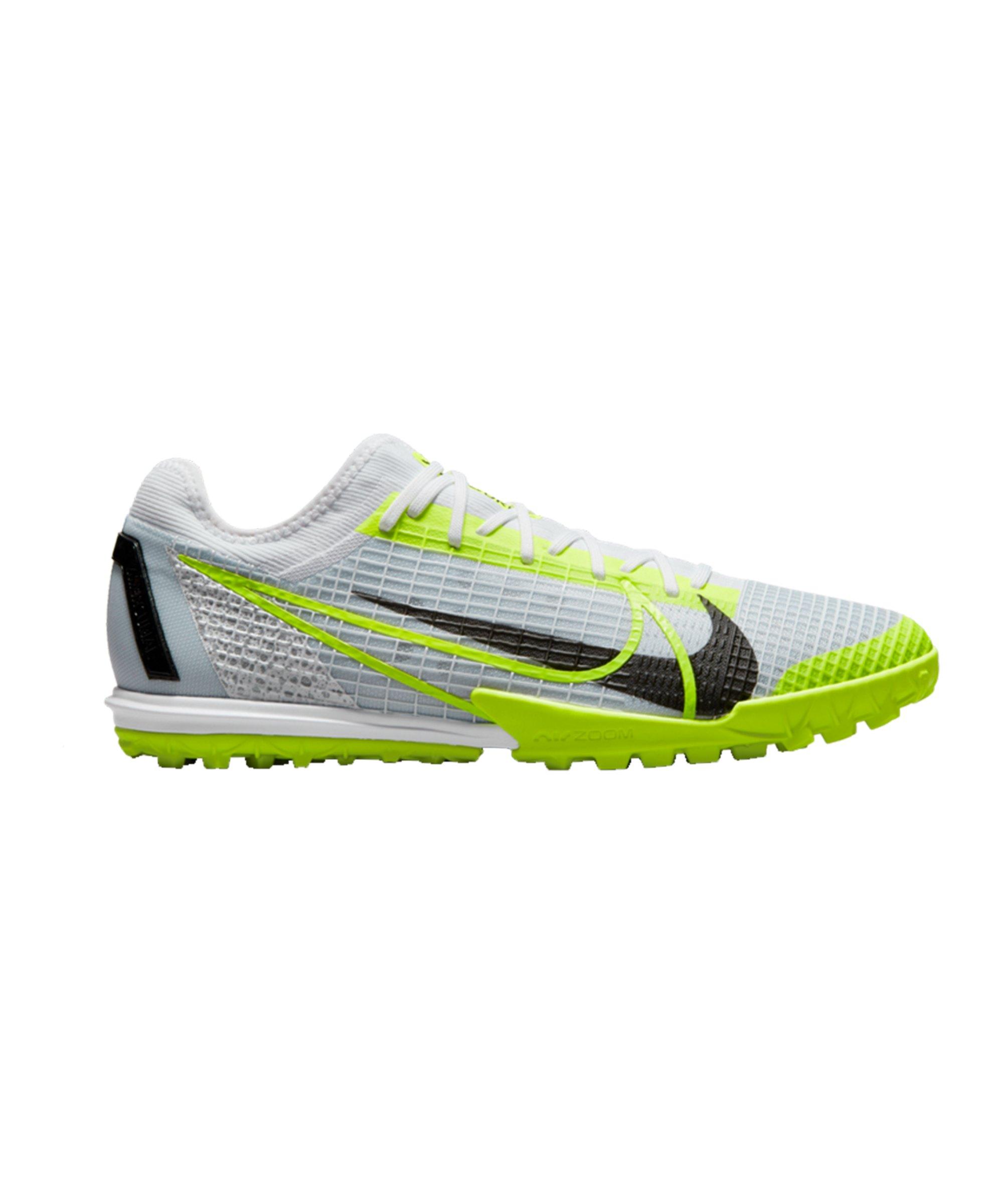 Nike Mercurial Zoom Vapor XIV Pro Safari TF Weiss F107 - weiss