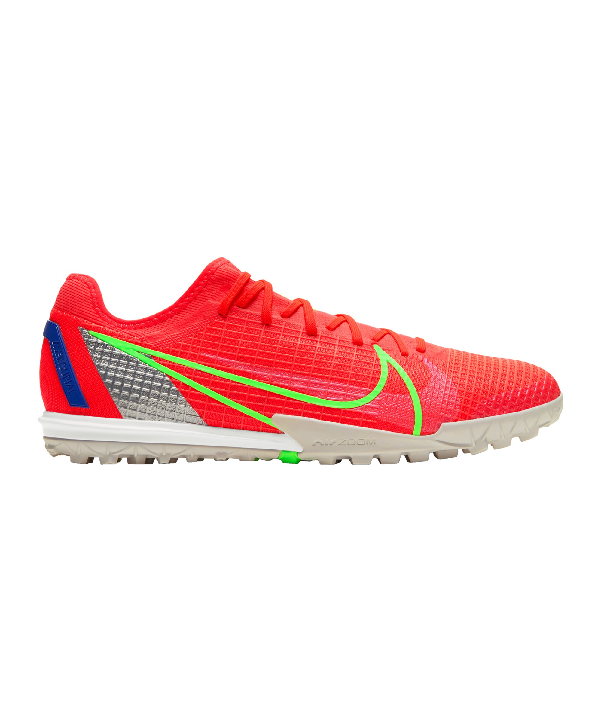 Nike Mercurial Zoom Vapor XIV Pro Spectrum TF Rot F600 - rot