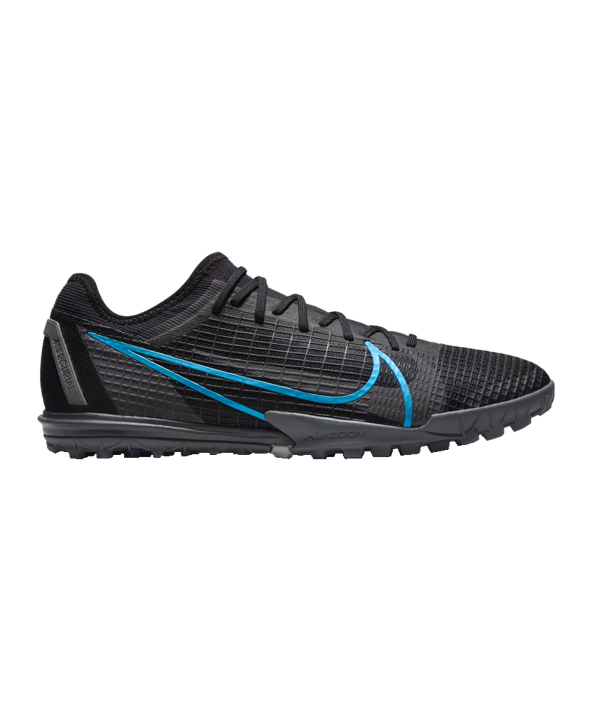 Nike Mercurial Zoom Vapor XIV Renew Pro TF Schwarz F004 - schwarz