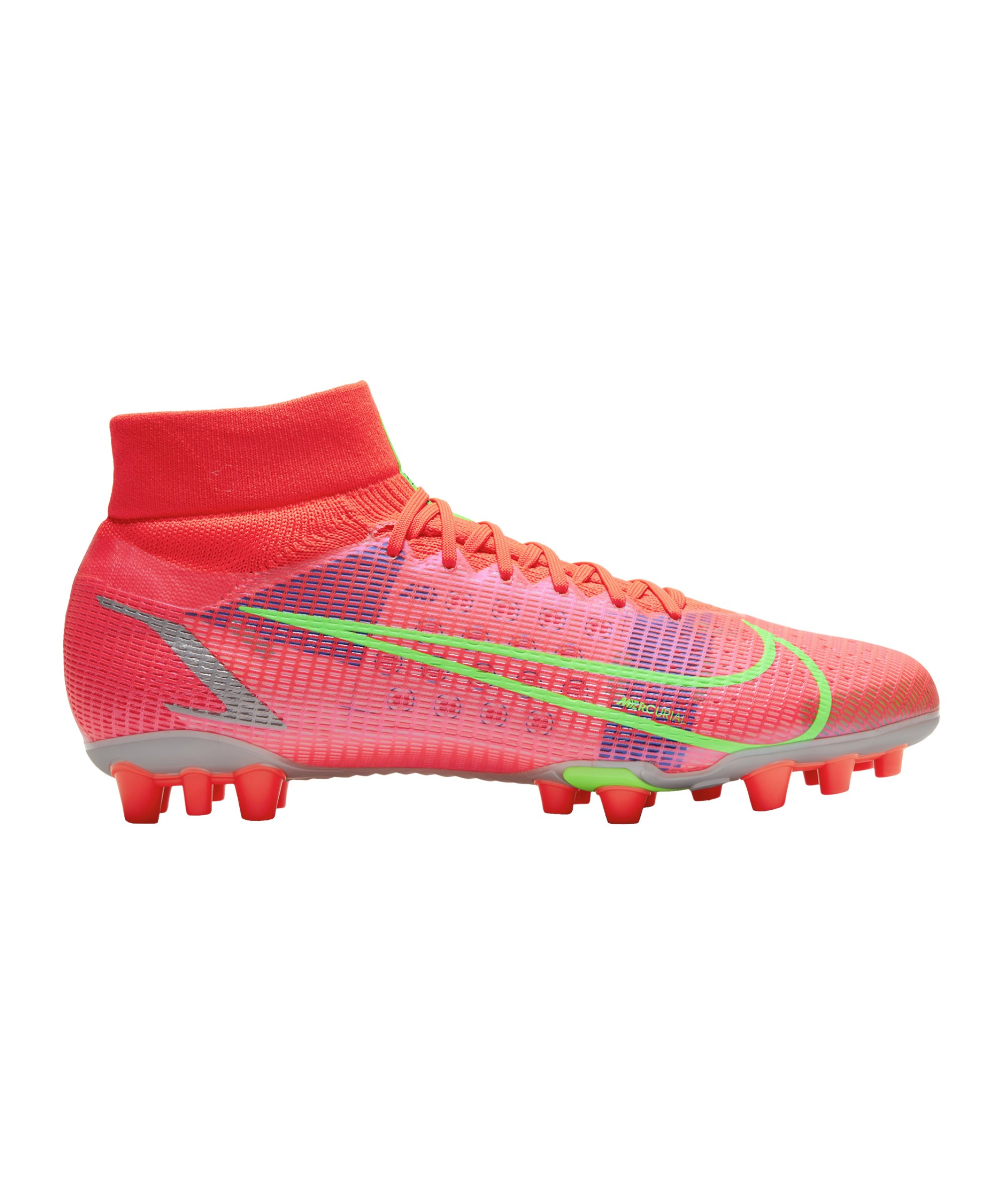 Nike Mercurial Superfly VIII Spectrum Pro AG Rot F600 - rot