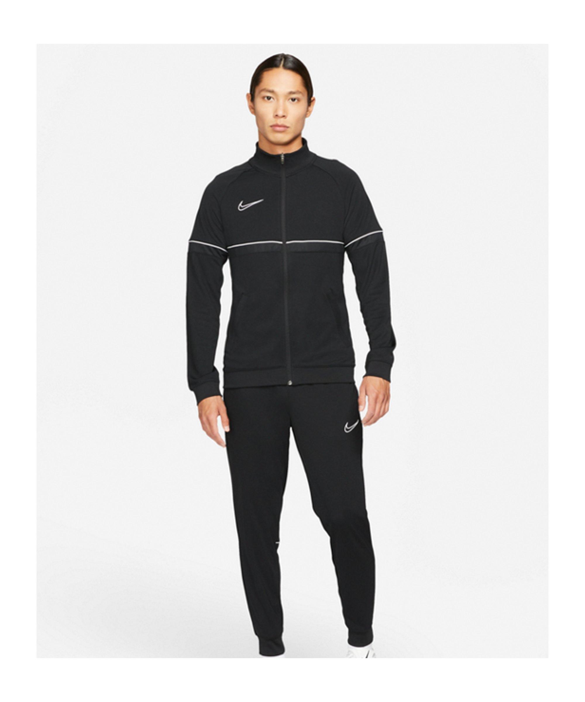 Nike Dri-Fit Academy Trainingsanzug Schwarz F014 - schwarz