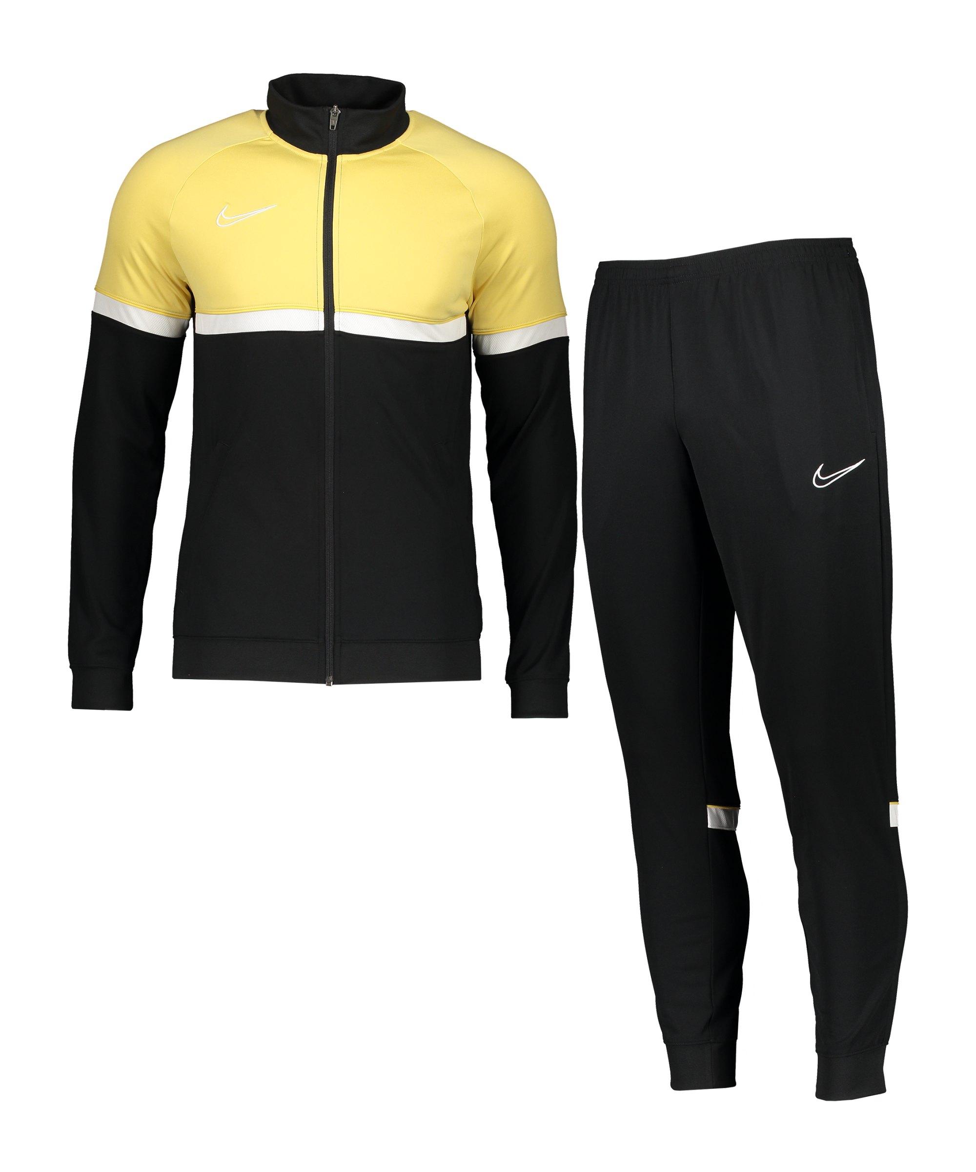 Nike Dri-Fit Academy Trainingsanzug Schwarz F015 - schwarz