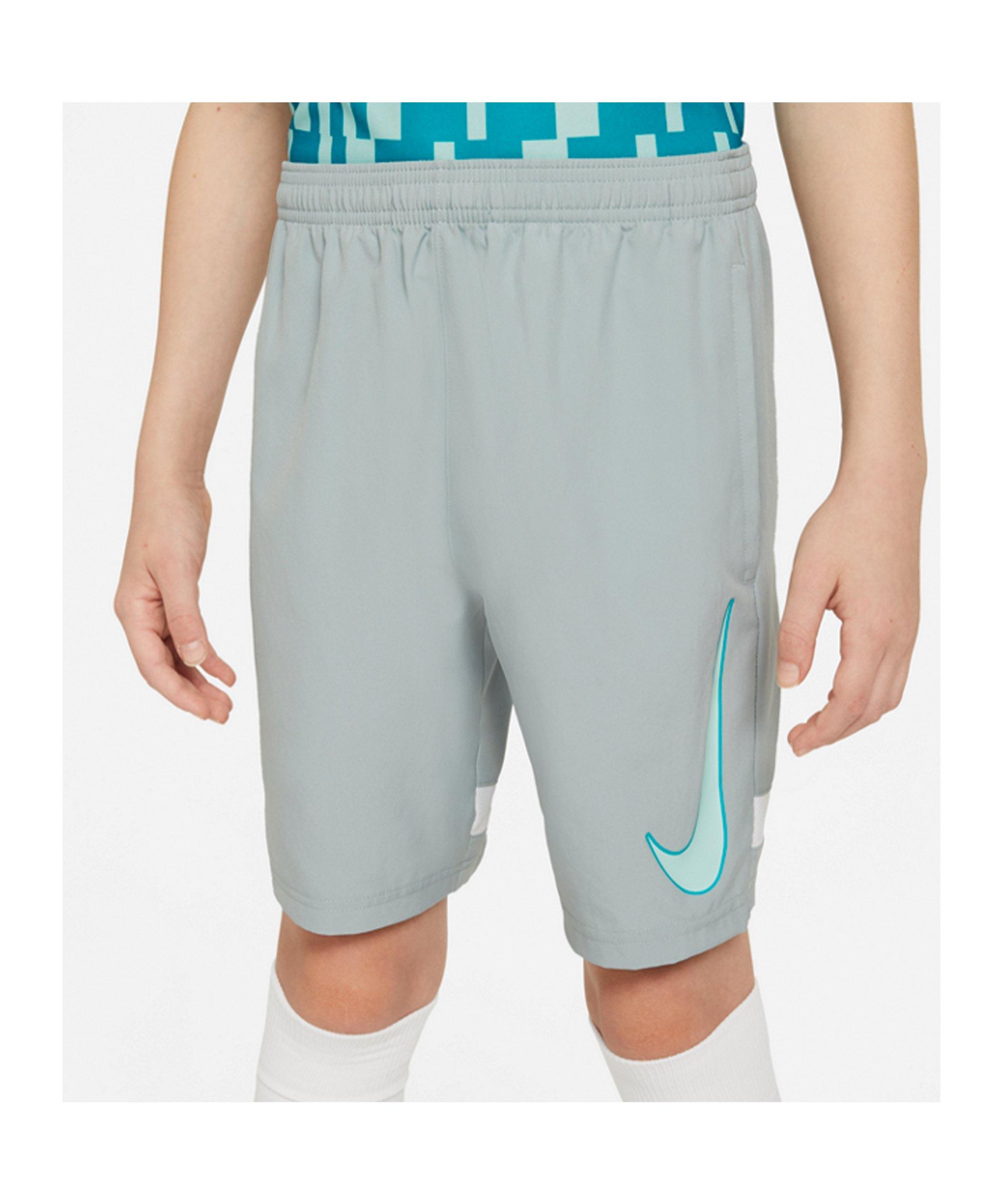 Nike Dri-FIT Academy Short Joga Bonito Kids F019 - grau