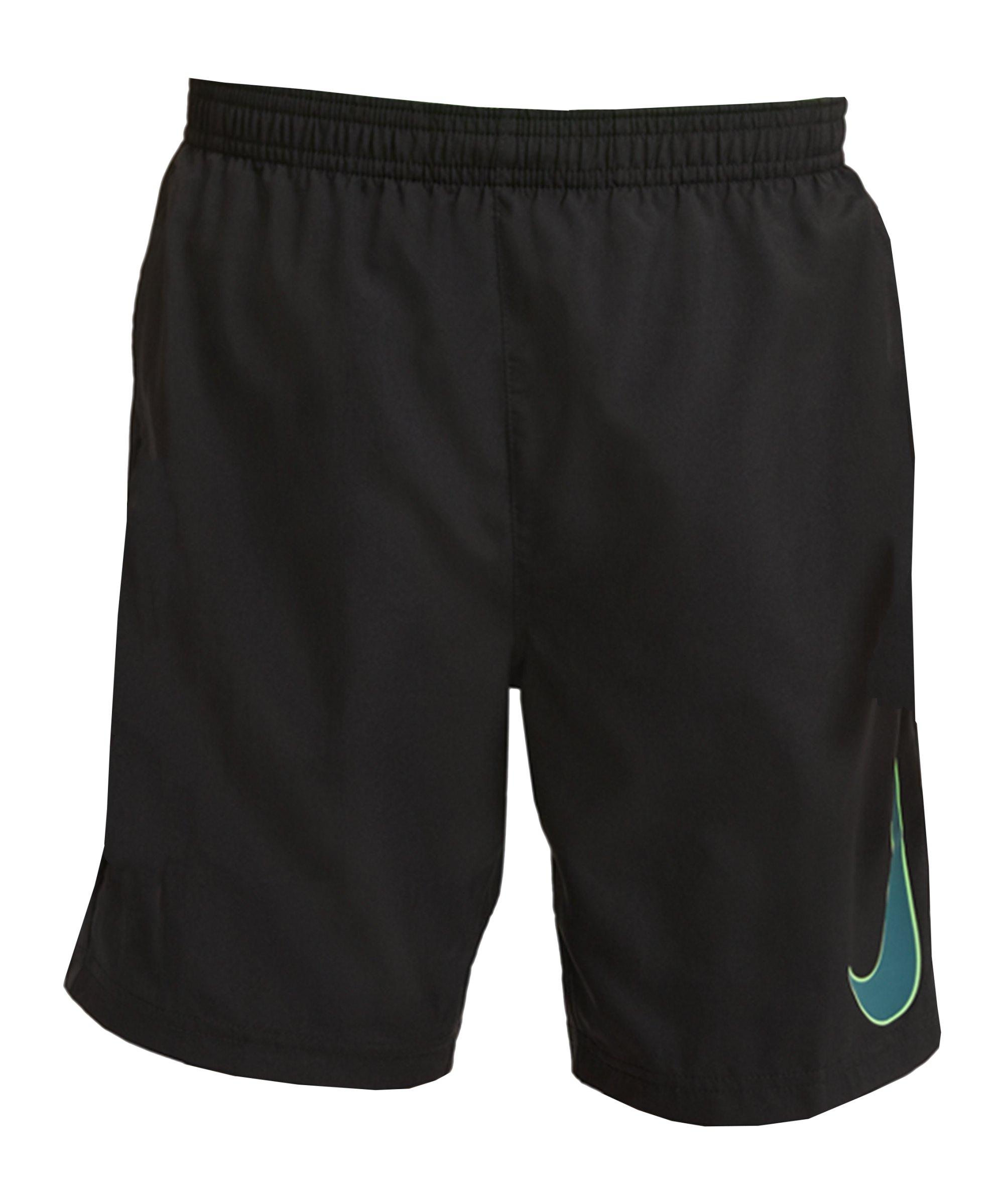 Nike Dri-Fit Academy Short Kids Schwarz Grün F010 - schwarz