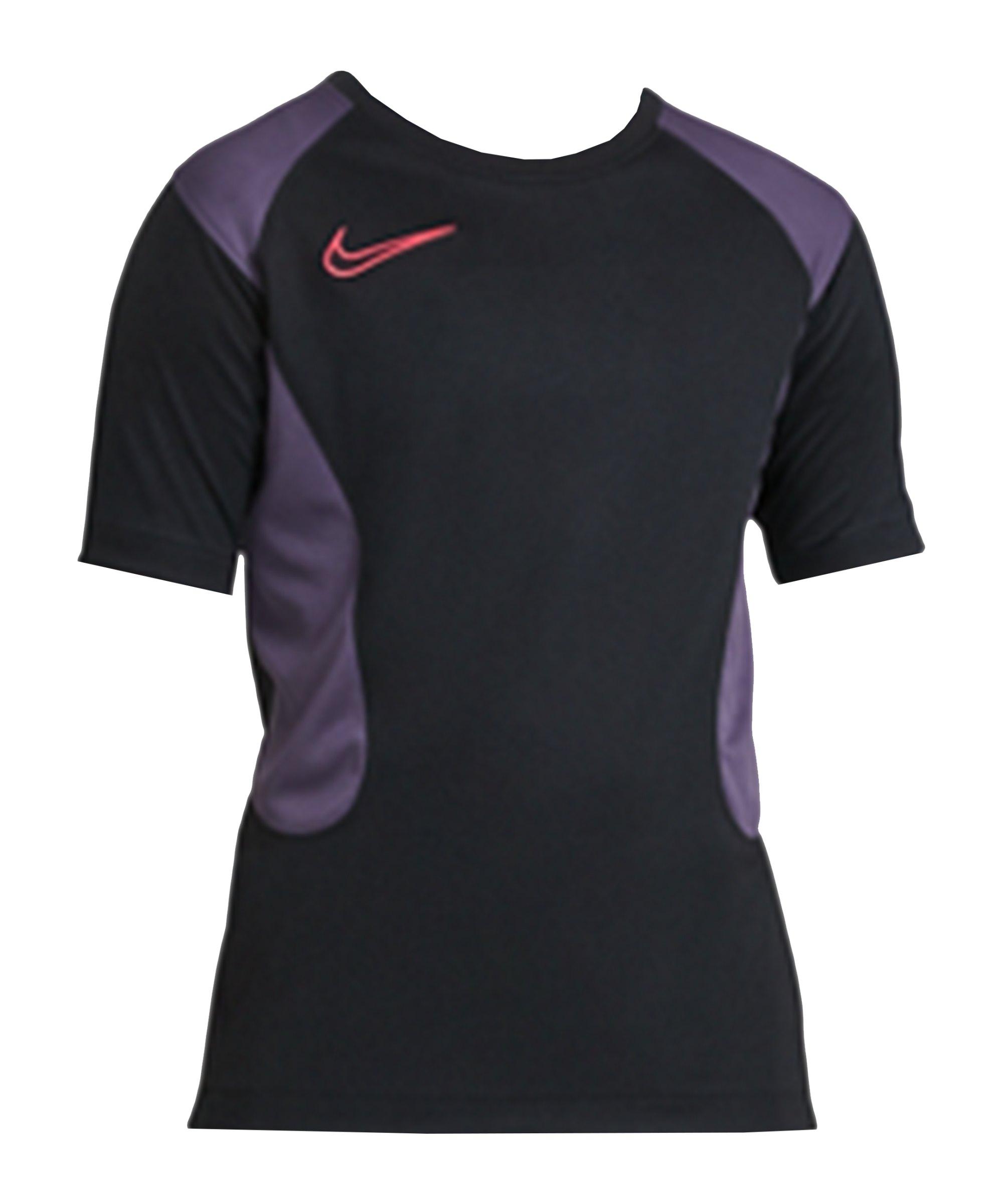 Nike Dry Academy T-Shirt Kids Schwarz Lila F010 - schwarz