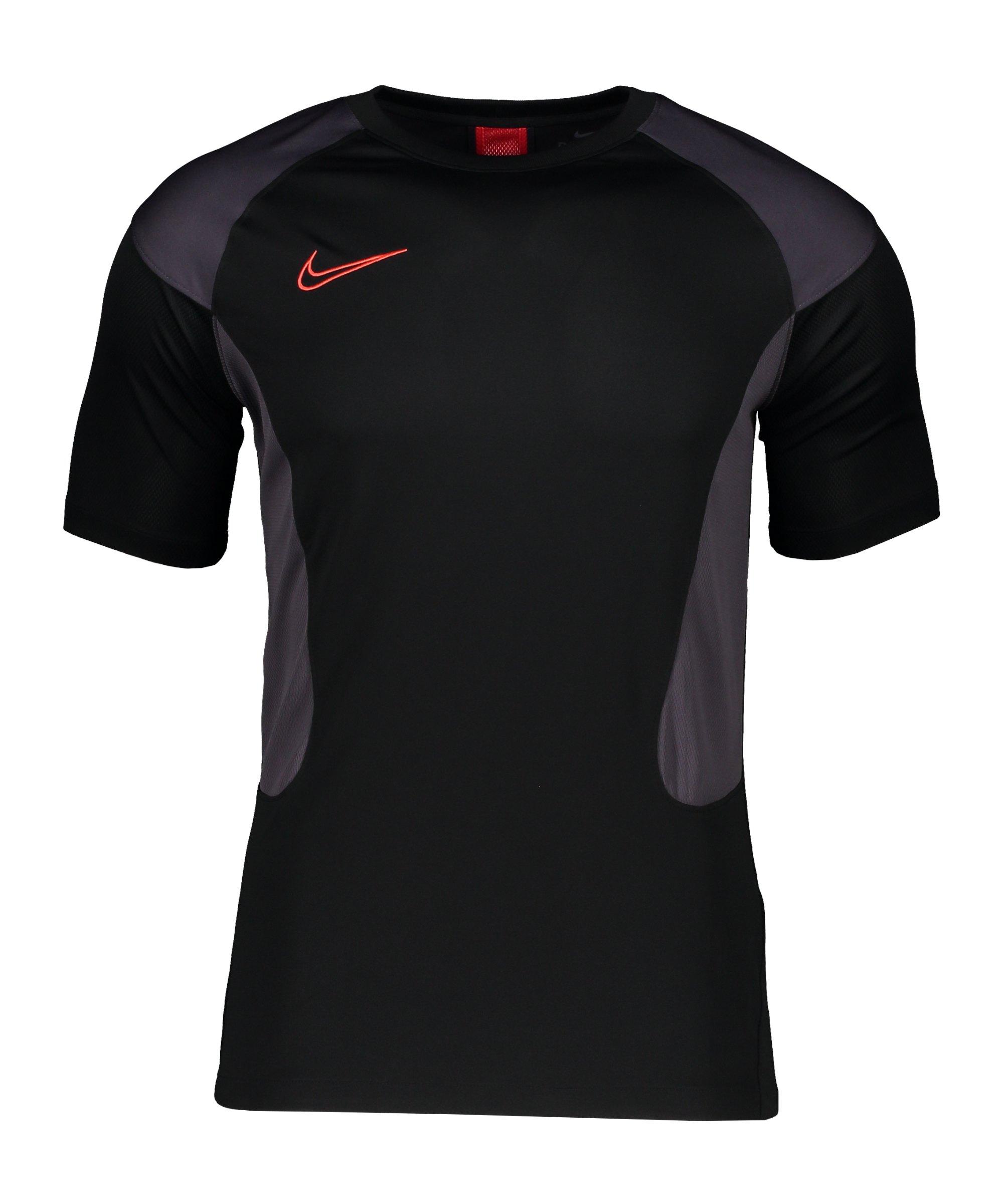Nike Dry Academy T-Shirt Schwarz Lila F011 - schwarz