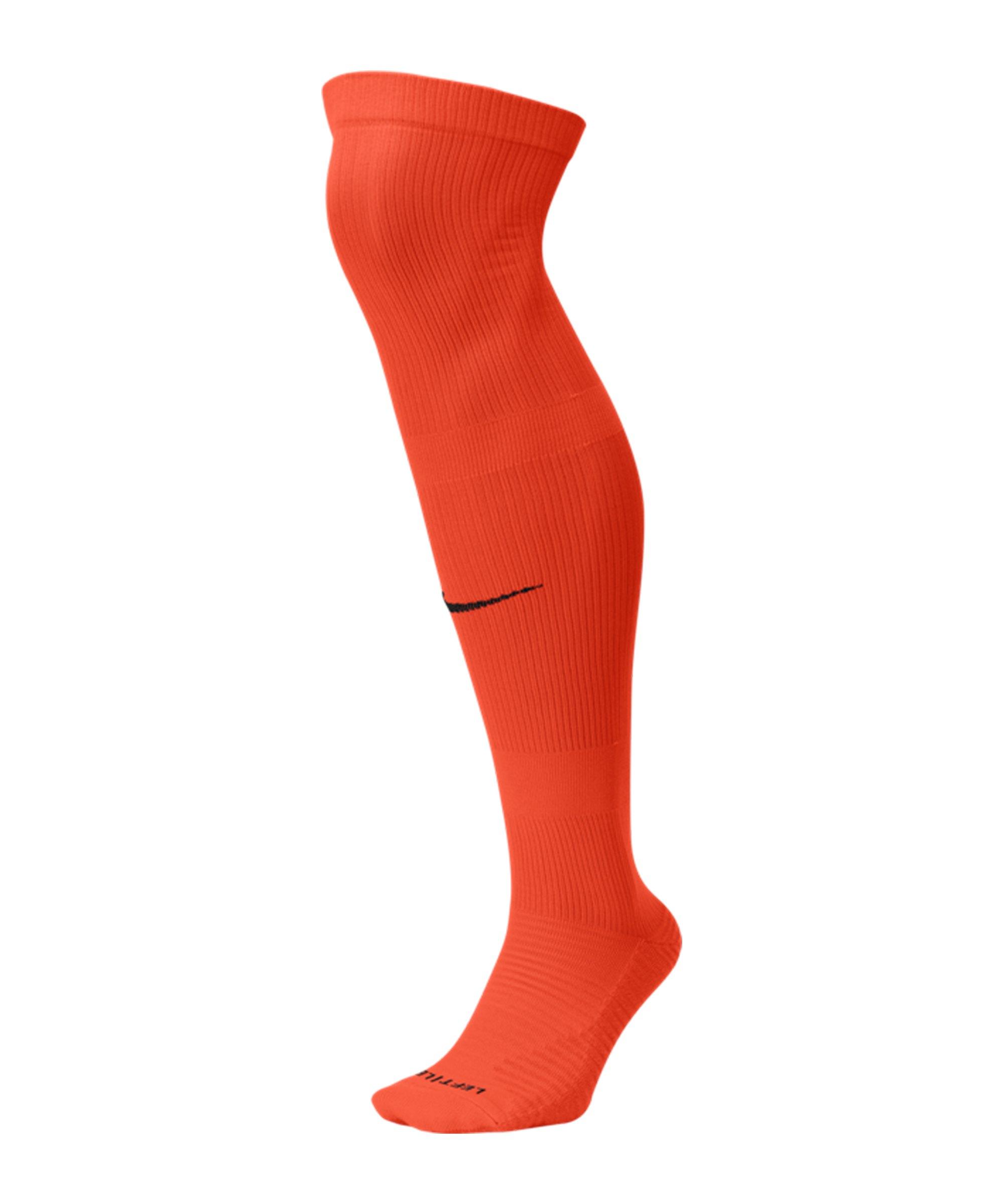 Nike Matchfit OTC Knee High Stutzenstrumpf F891 - orange