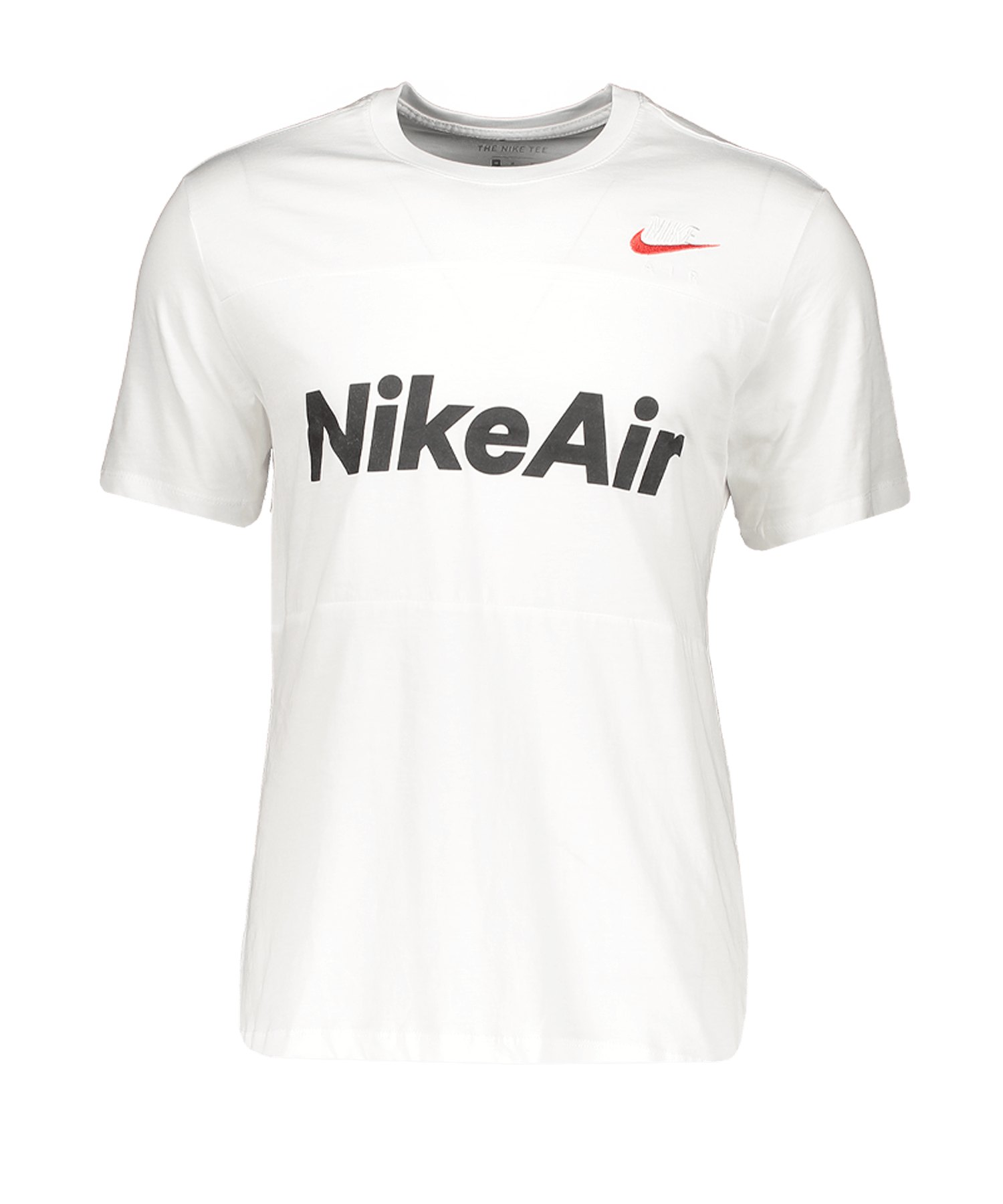 Nike Air Tee T-Shirt Weiss F101 - weiss