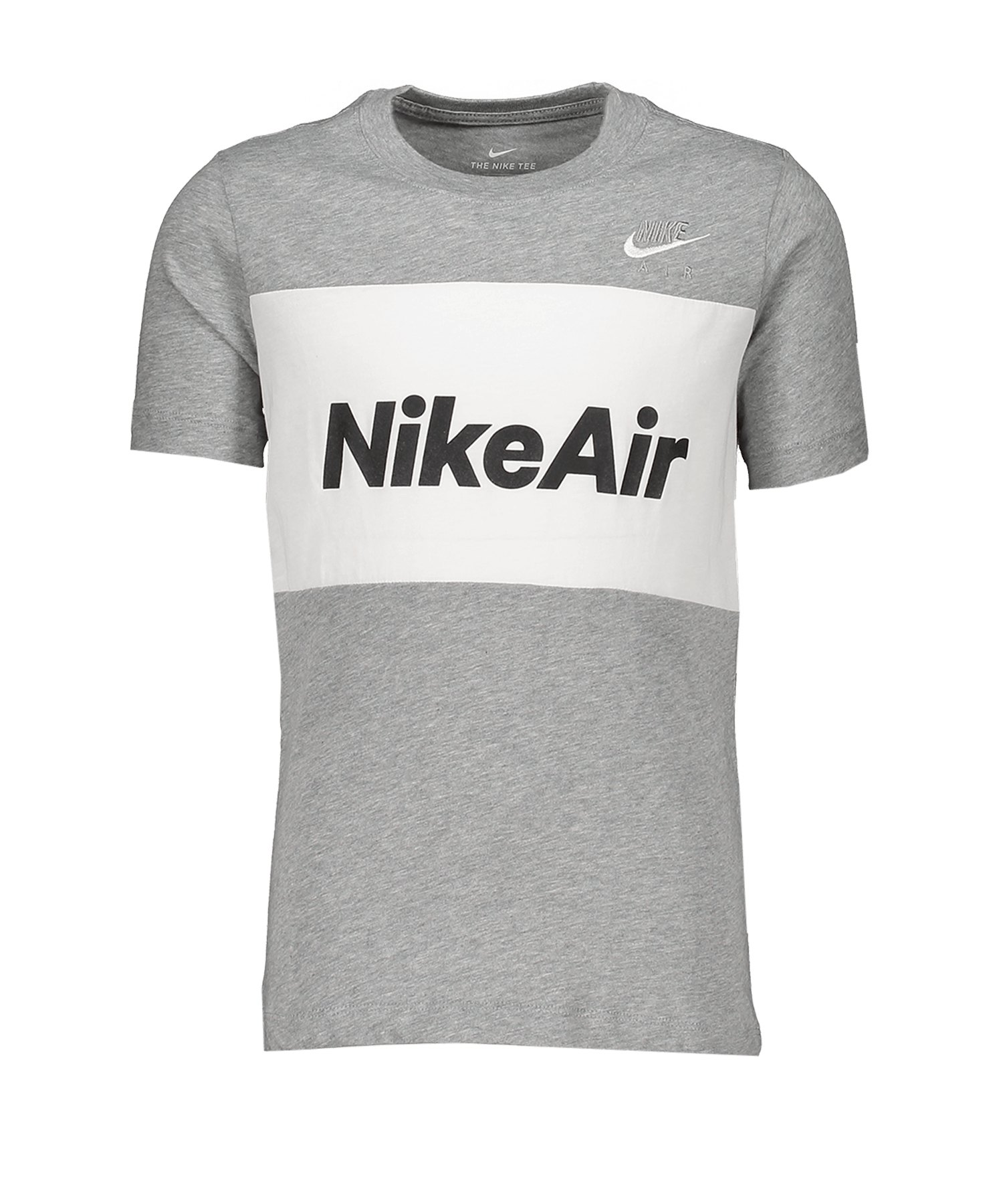 Nike Air Tee T-Shirt Kids Grau F063 - grau