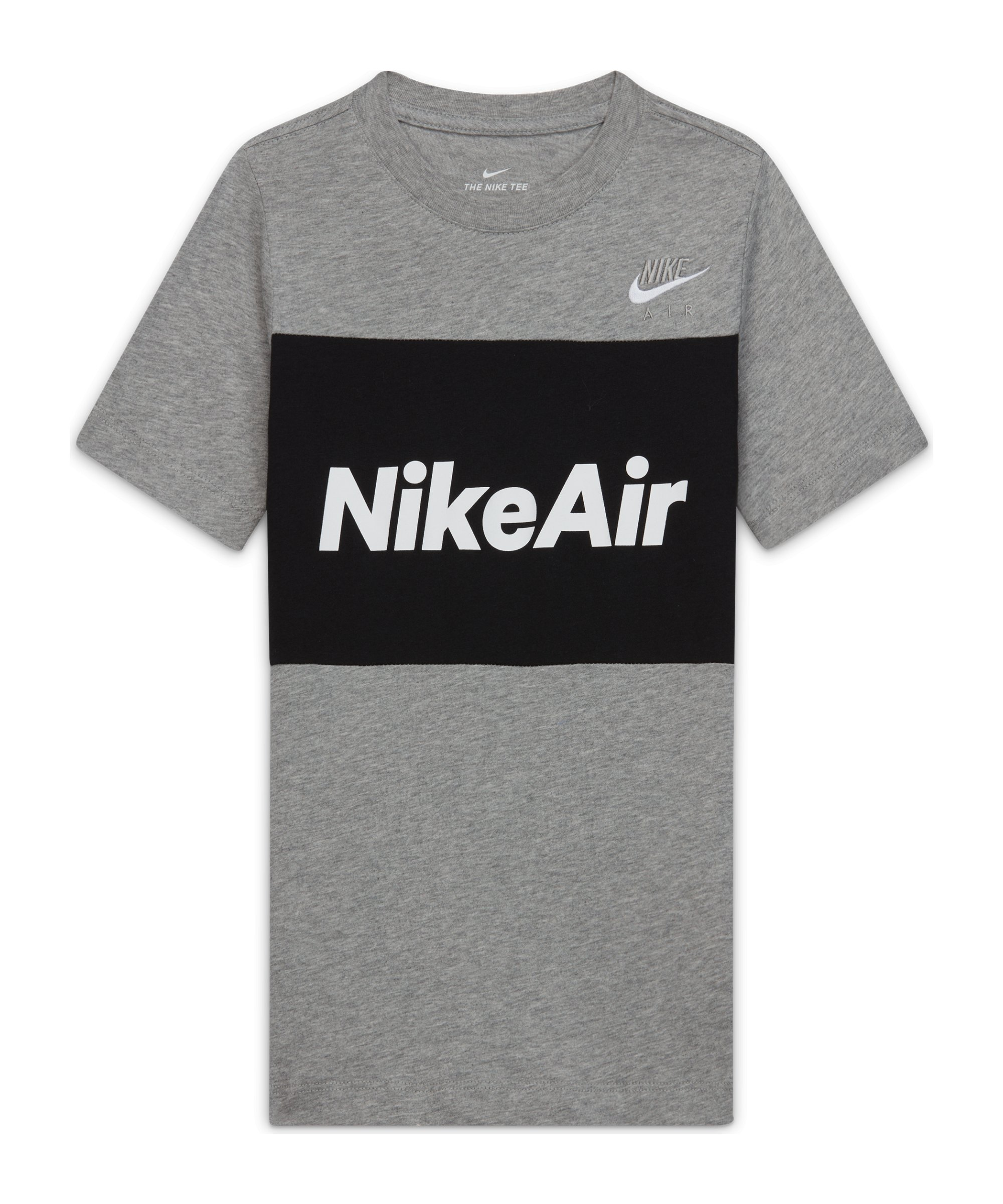 Nike Air Tee T-Shirt Kids Grau F064 - grau