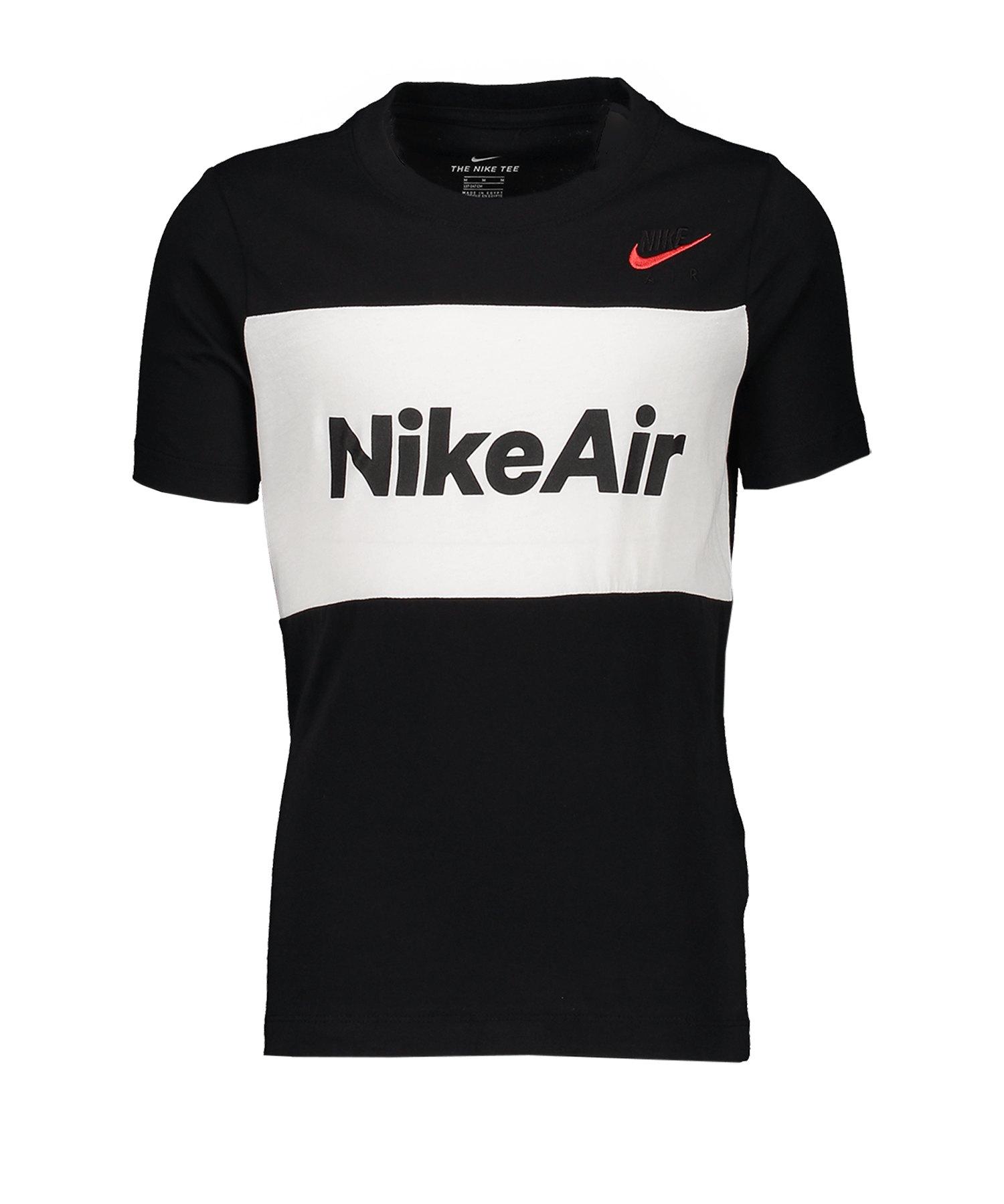Nike Air Tee T-Shirt Kids Schwarz F010 - schwarz