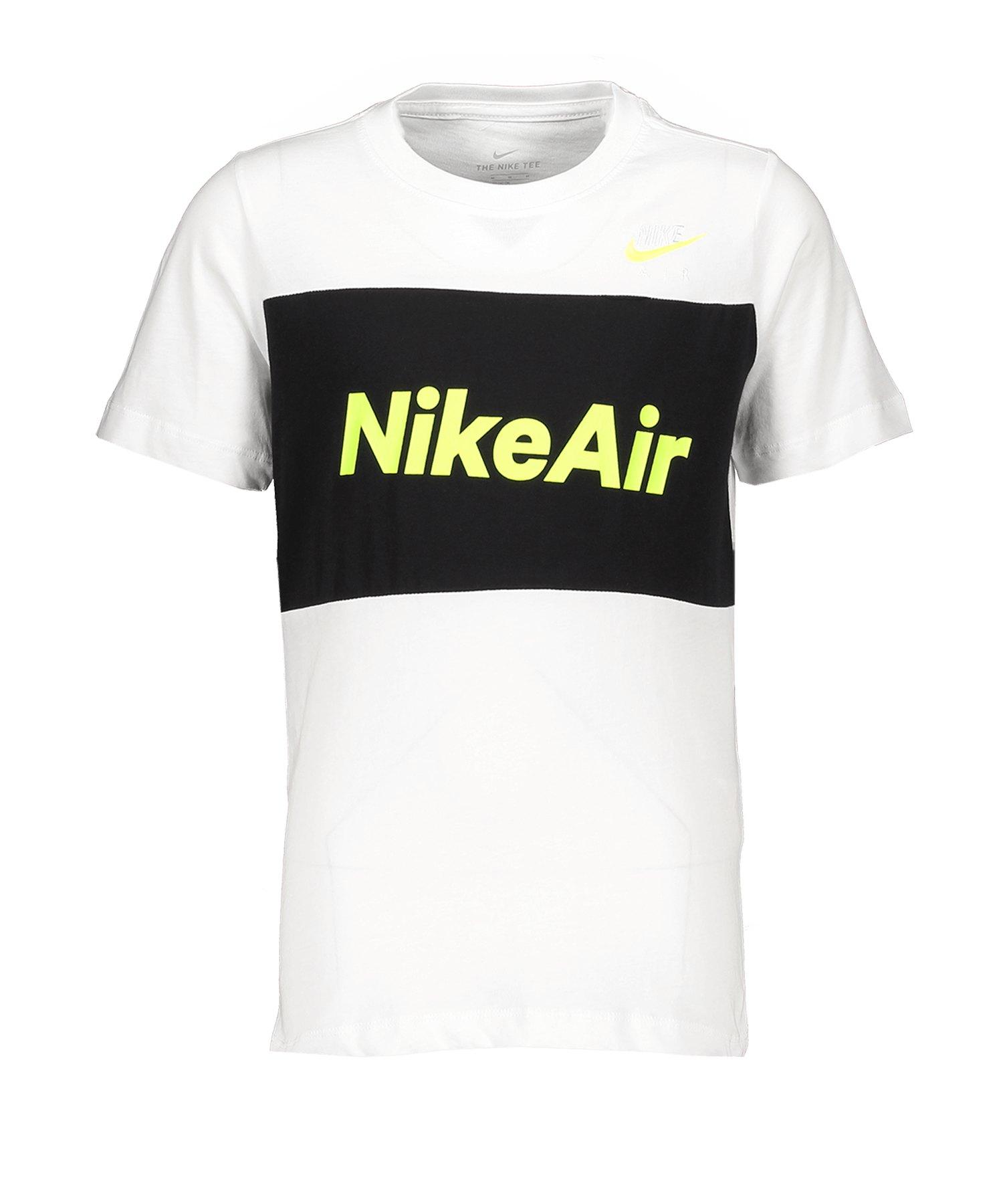 Nike Air Tee T-Shirt Kids Weiss F100 - weiss