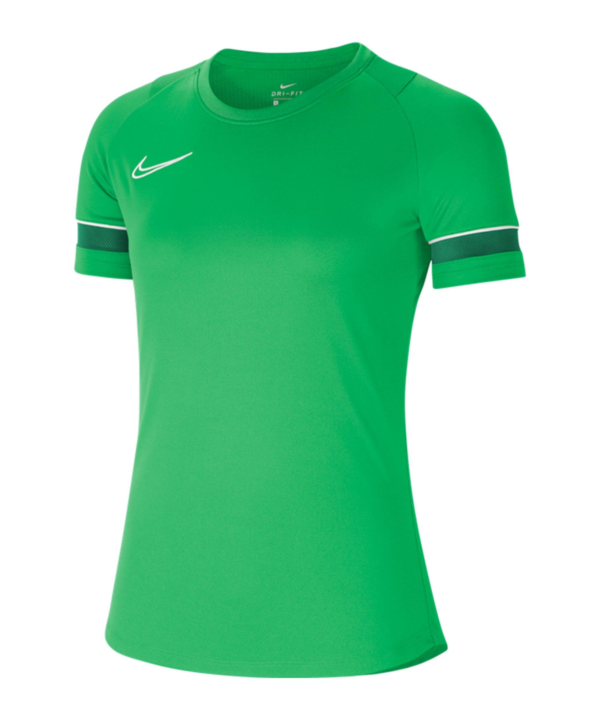 Nike Academy 21 T-Shirt Damen Grün F362 - gruen