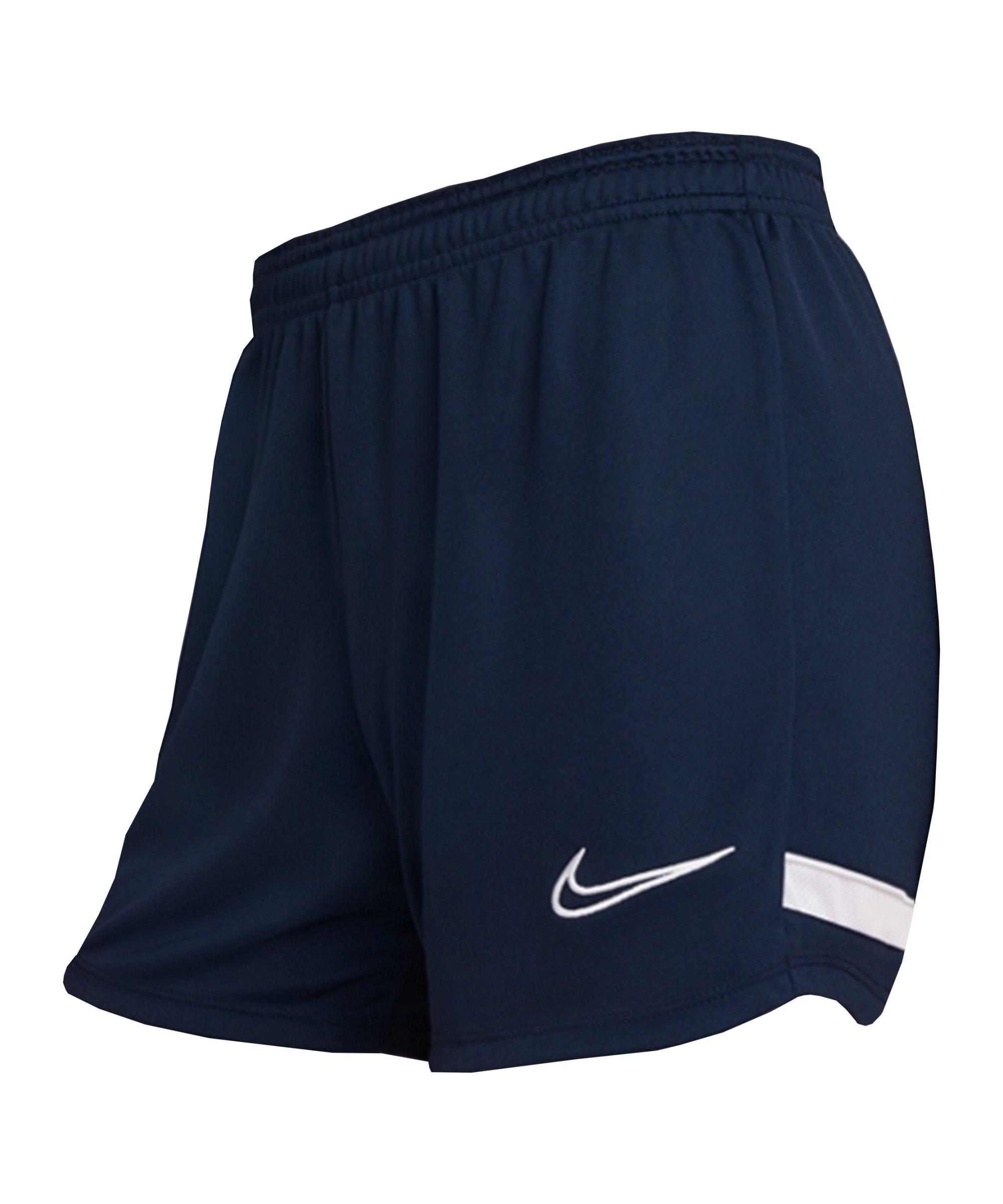 Nike Academy 21 Short Damen Blau Weiss F451 - blau