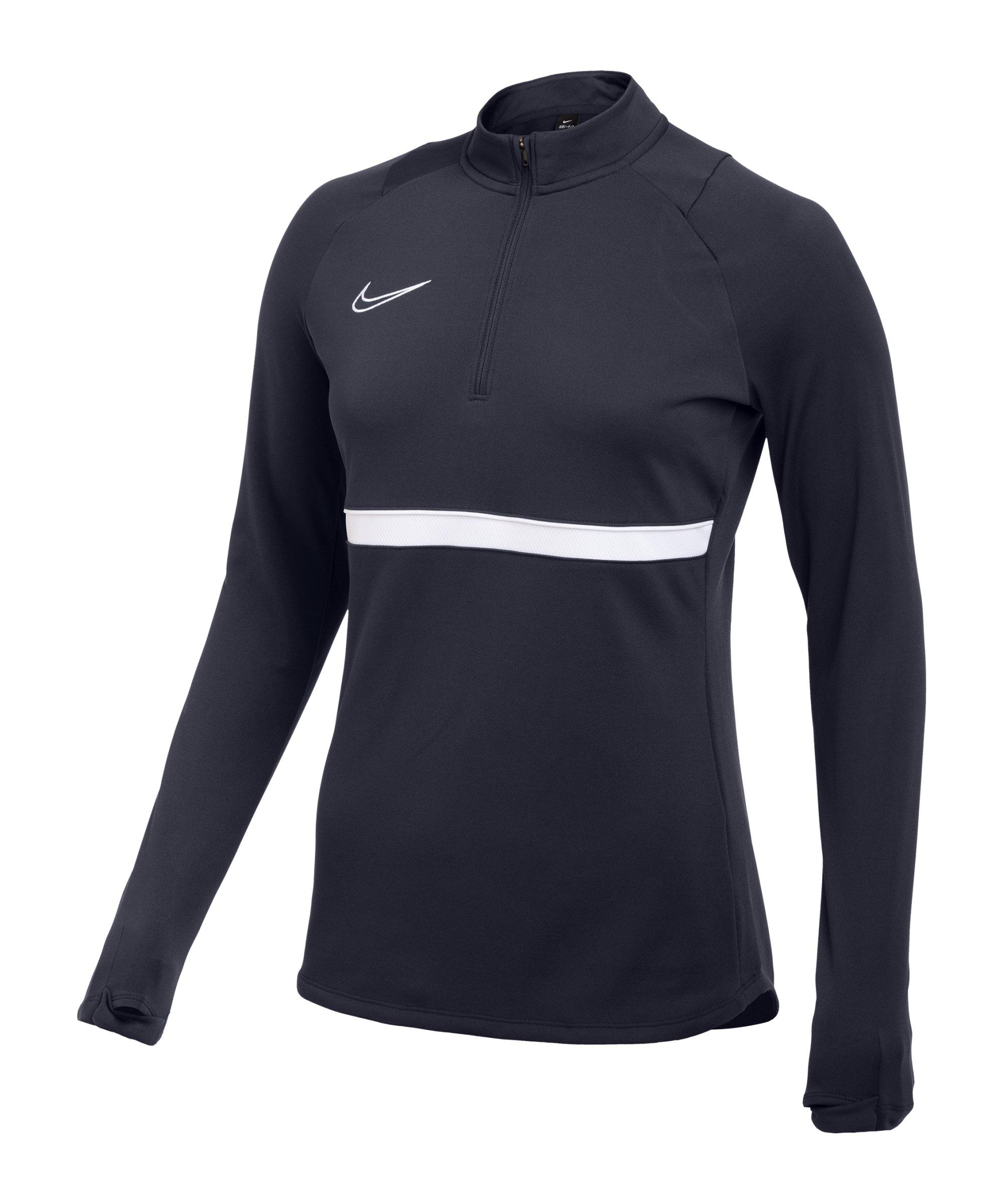 Nike Academy 21 Drill Top Damen Blau F451 - blau