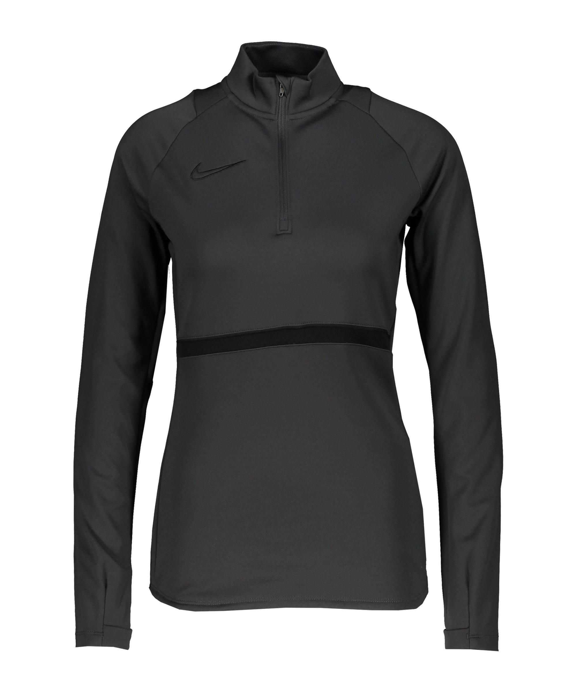 Nike Academy 21 Drill Top Damen Grau F060 - grau