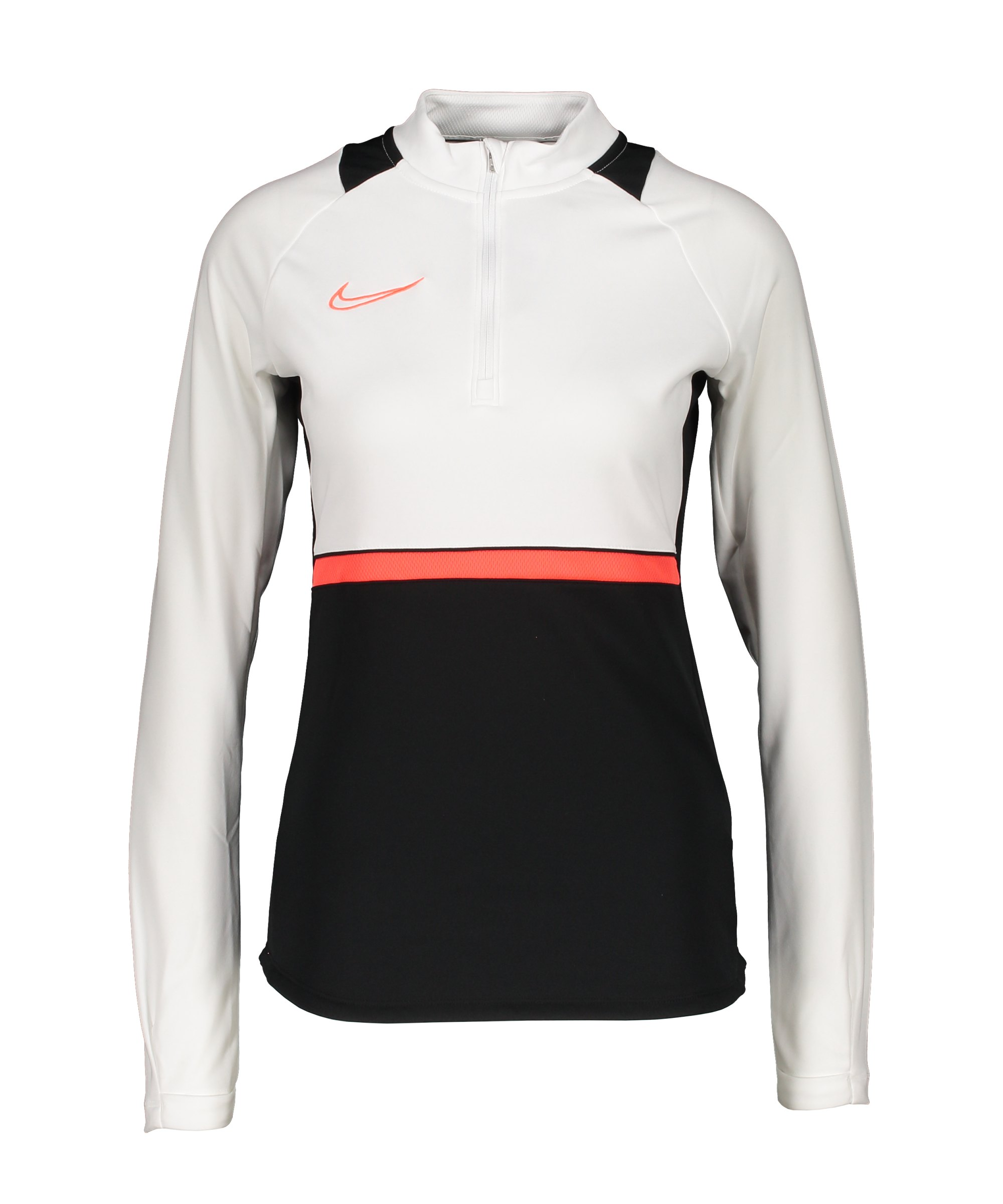 Nike Academy 21 Drill Top Damen Schwarz F016 - schwarz