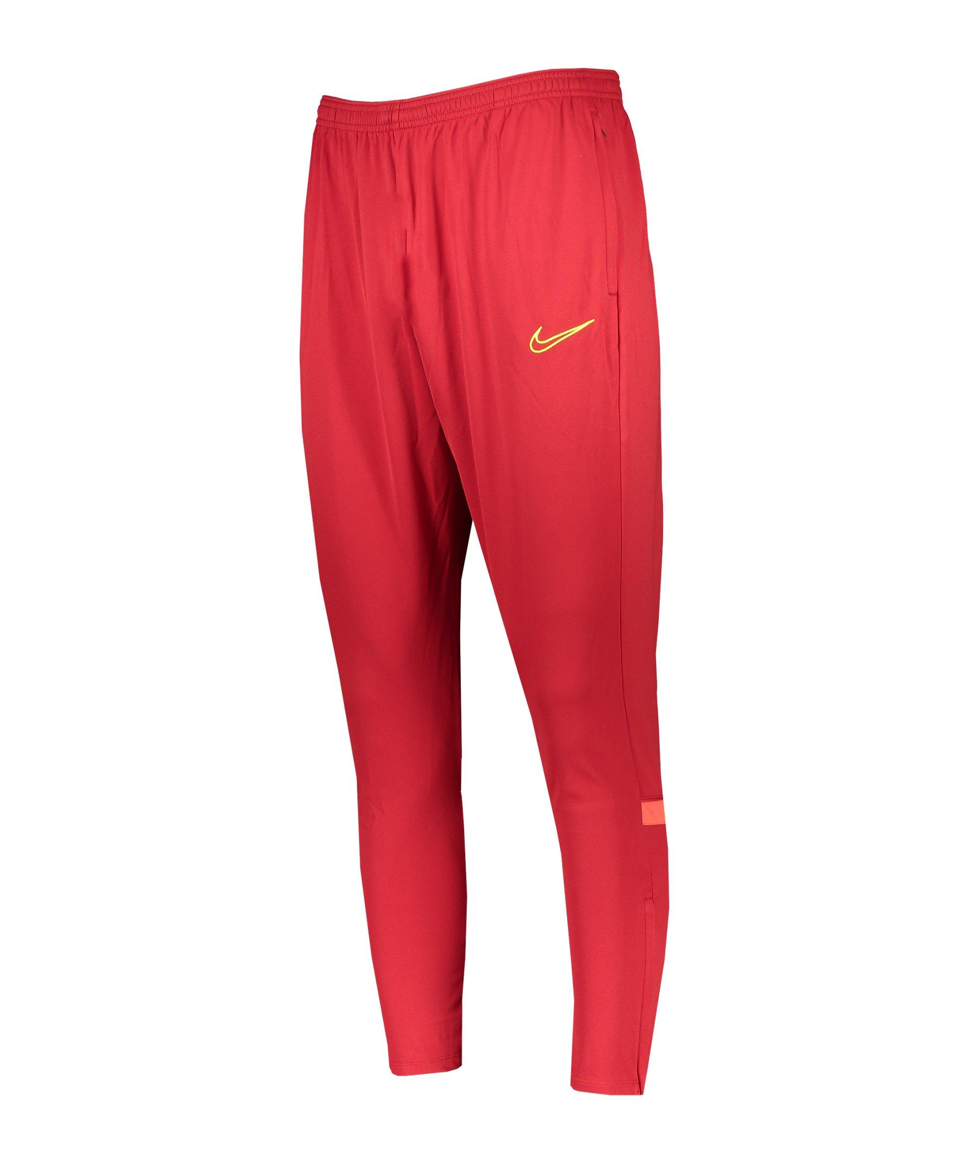 Nike Academy 21 Trainingshose Damen Rot F687 - rot