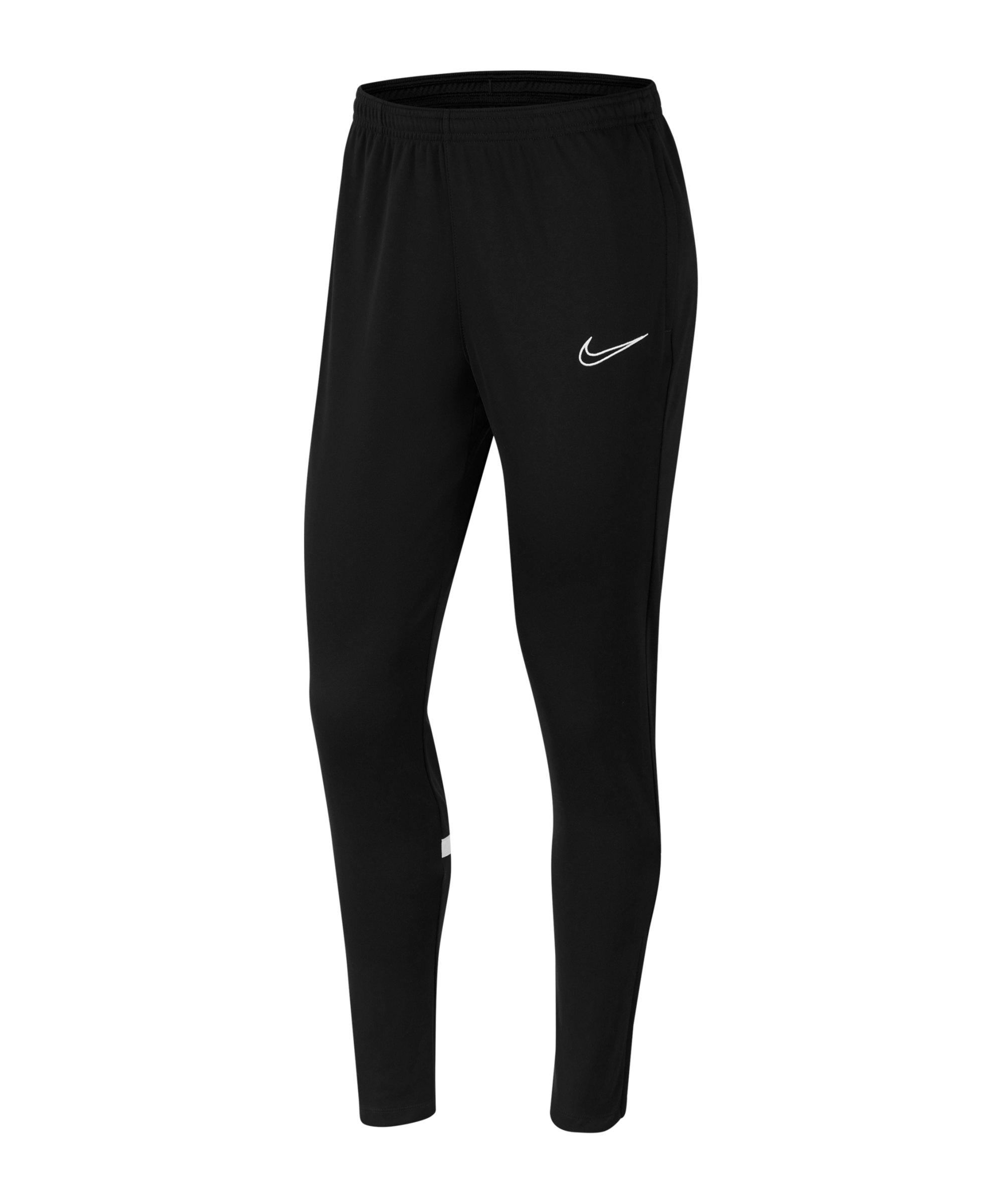 Nike Academy 21 Trainingshose Damen Schwarz F010 - schwarz
