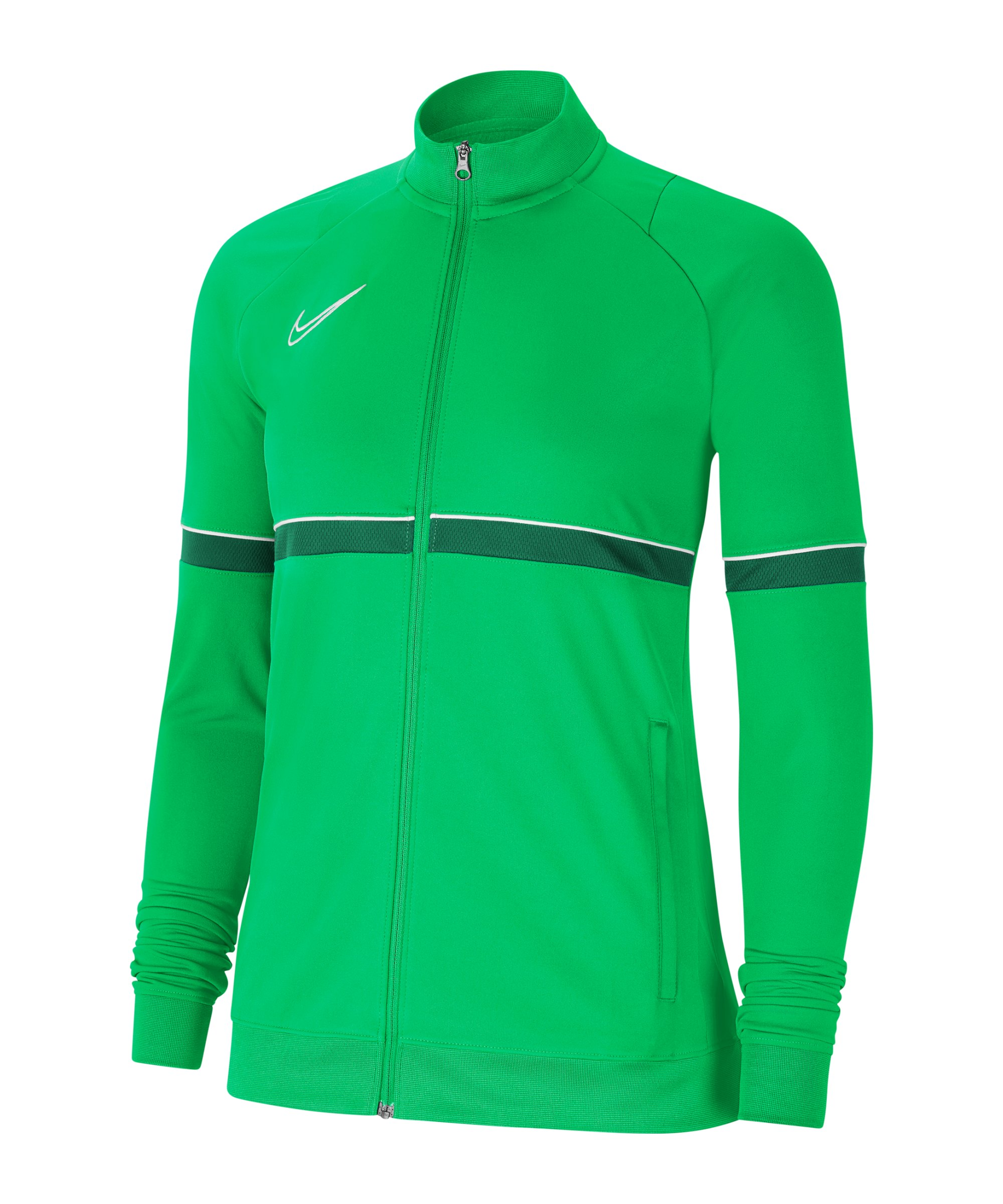 Nike Academy 21 Tainingsjacke Damen Grün F362 - gruen