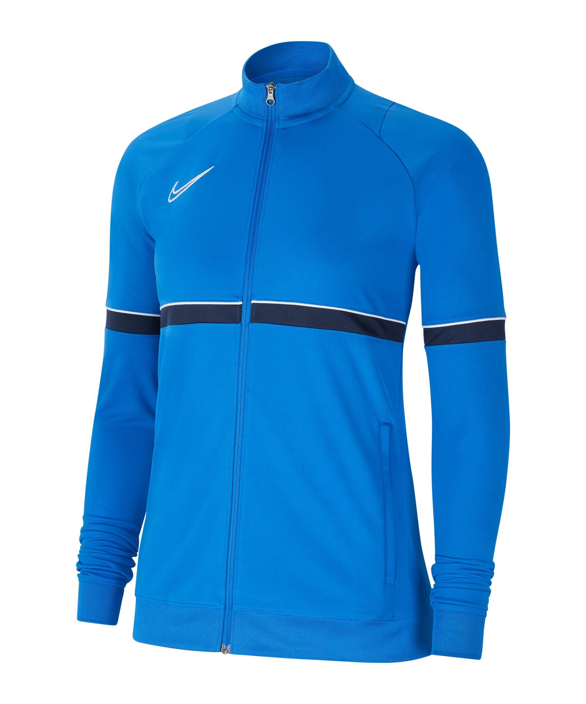 Nike Academy 21 Trainingsjacke Damen Blau F463 - blau