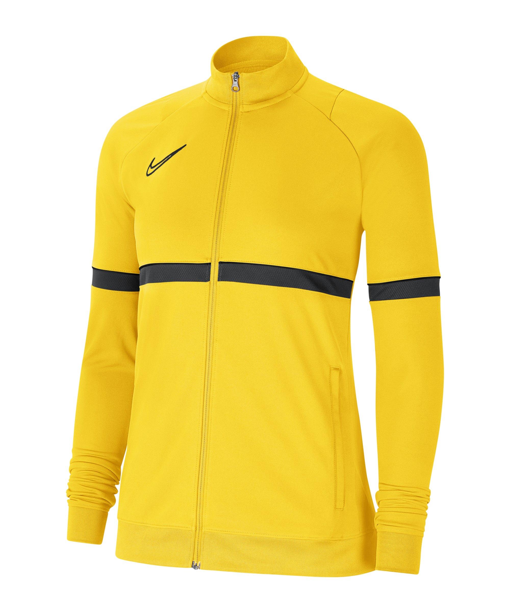 Nike Academy 21 Trainingsjacke Damen Gelb F719 - gelb