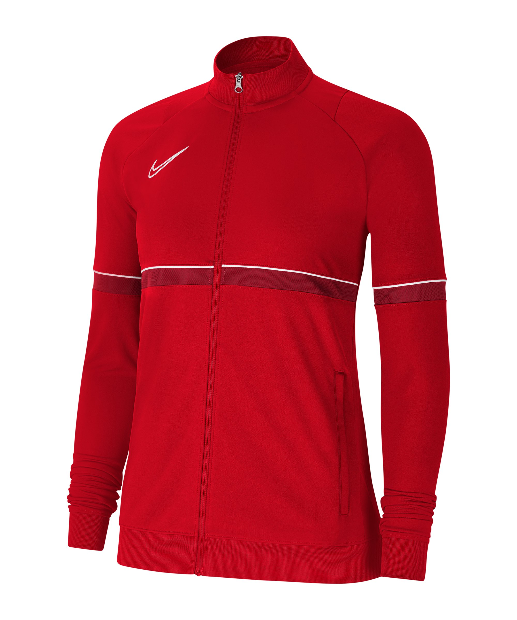 Nike Academy 21 Trainingsjacke Damen Rot F657 - rot
