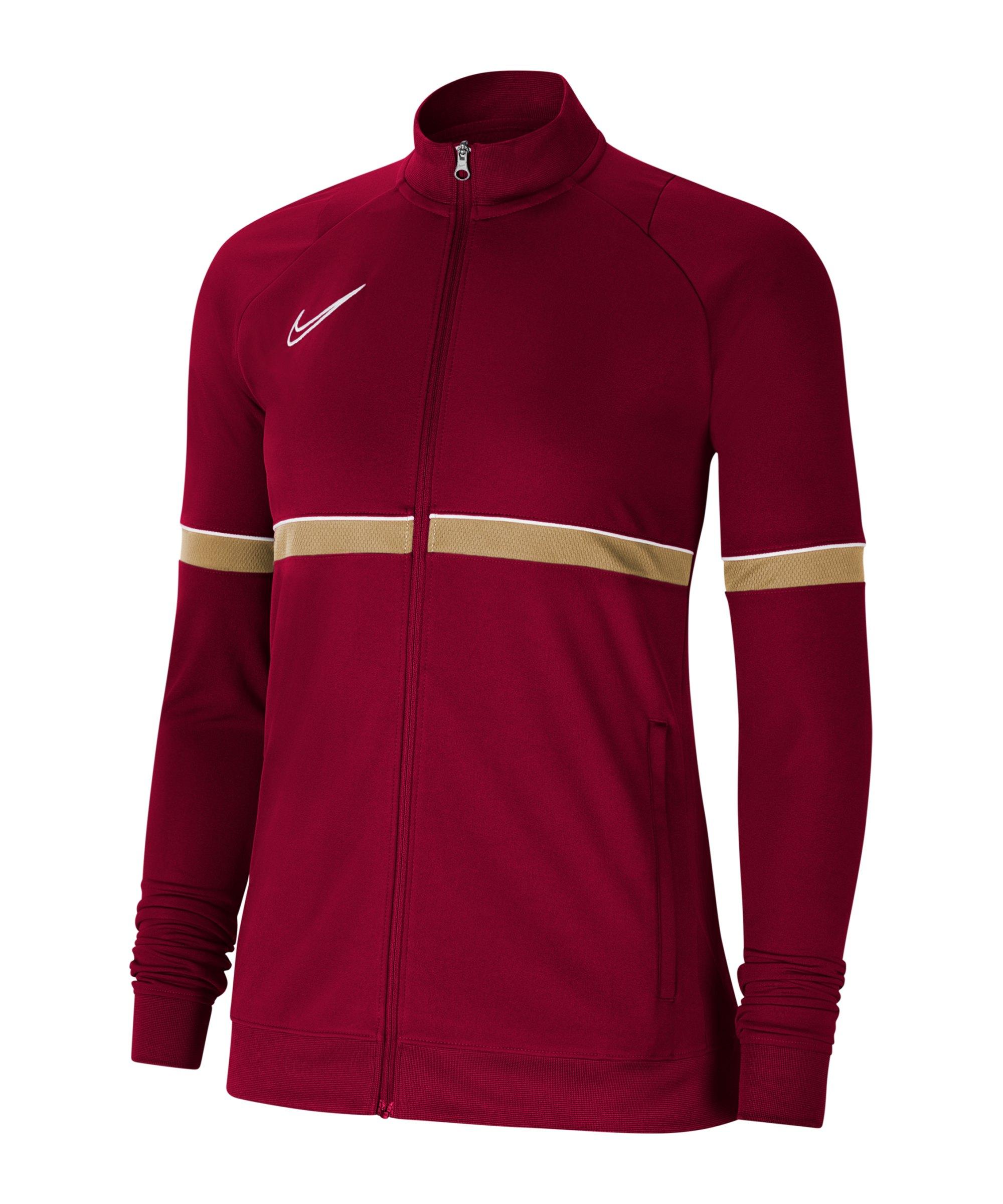 Nike Academy 21 Trainingsjacke Damen Rot F677 - rot