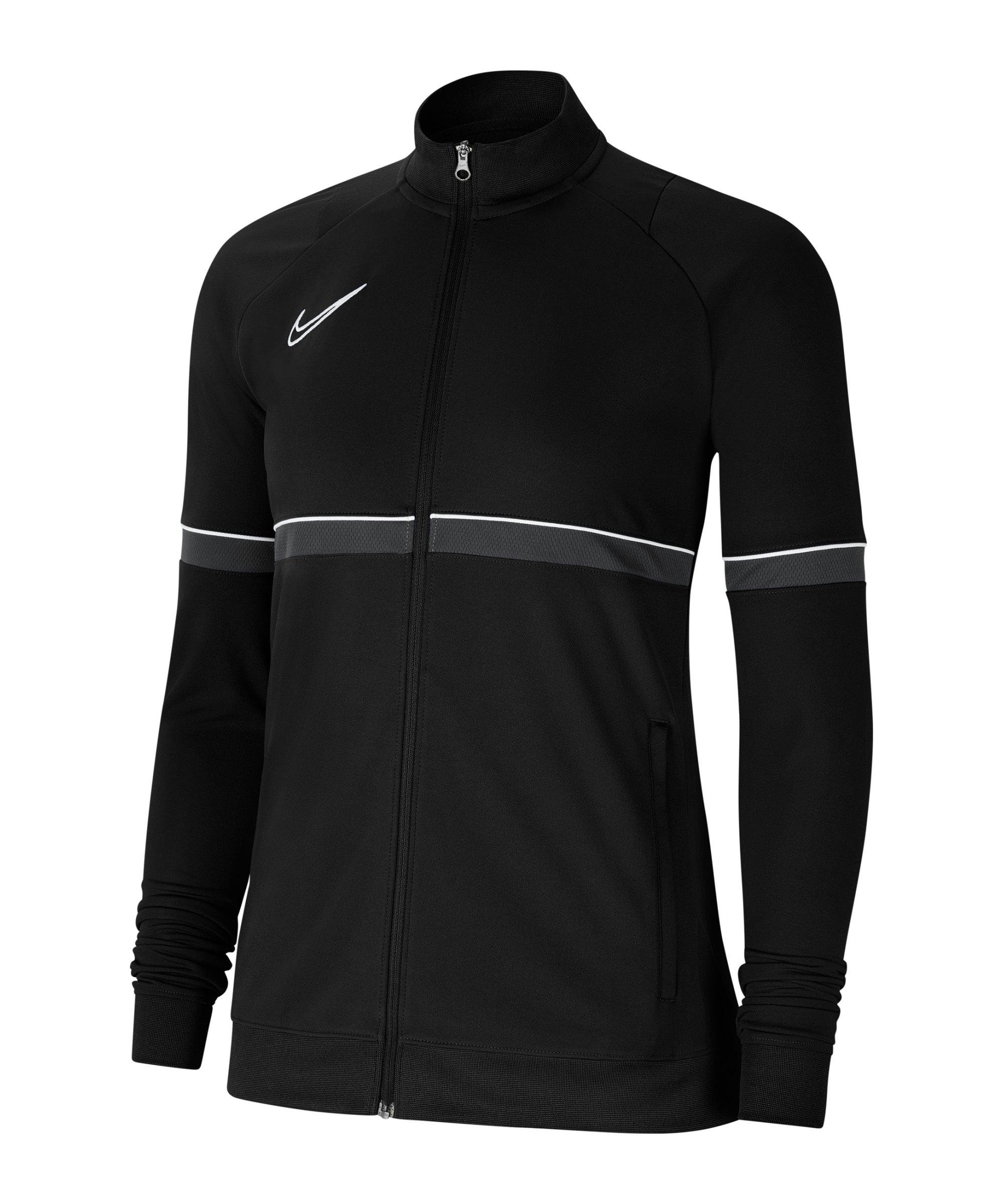 Nike Academy 21 Trainingsjacke Damen Schwarz F014 - schwarz