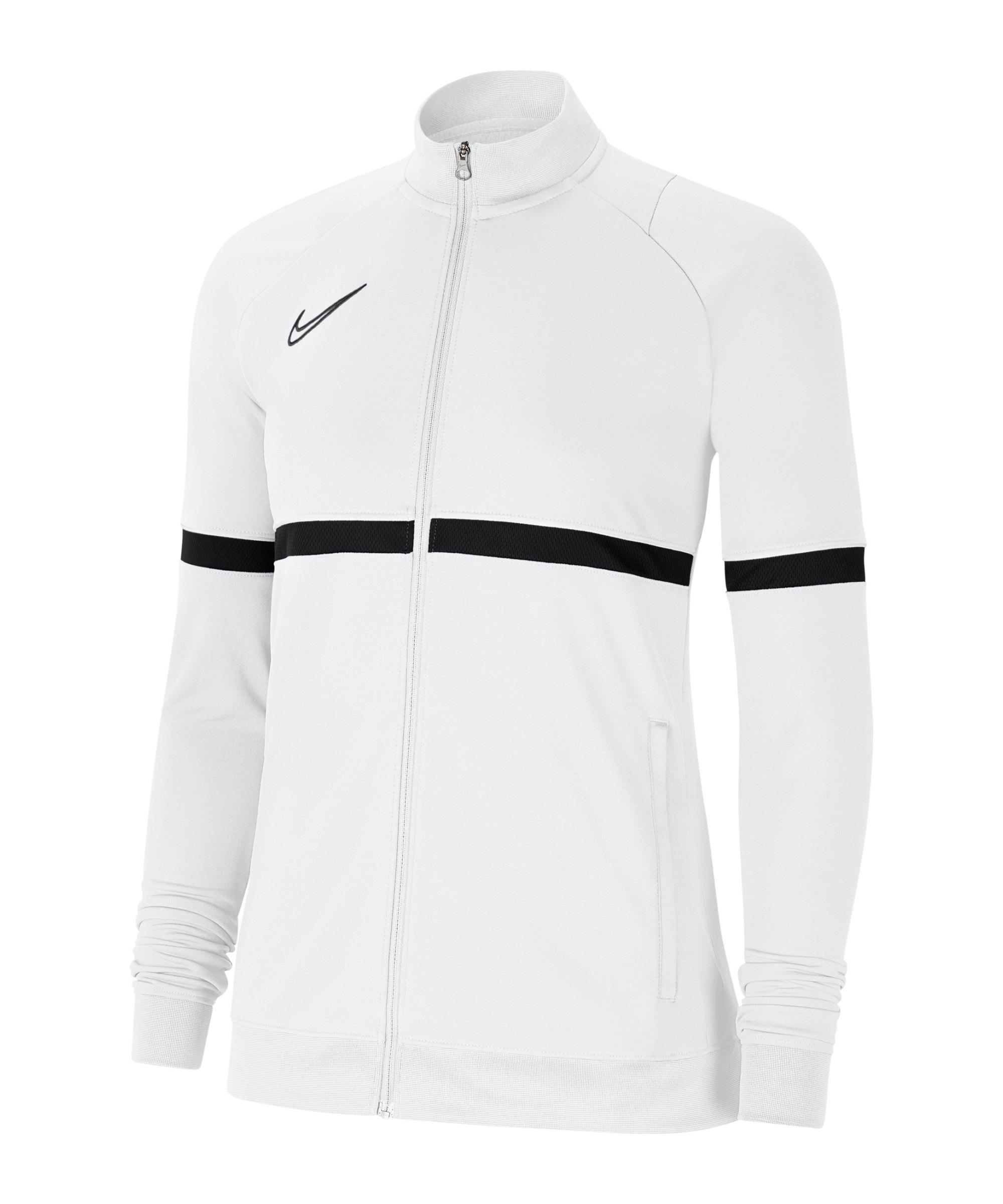 Nike Academy 21 Trainingsjacke Damen Weiss F100 - weiss