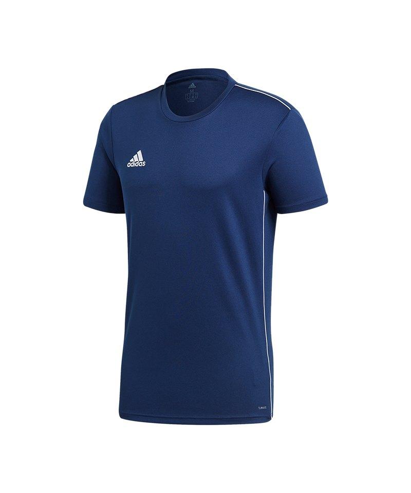 adidas Core 18 Training T-Shirt Blau - blau