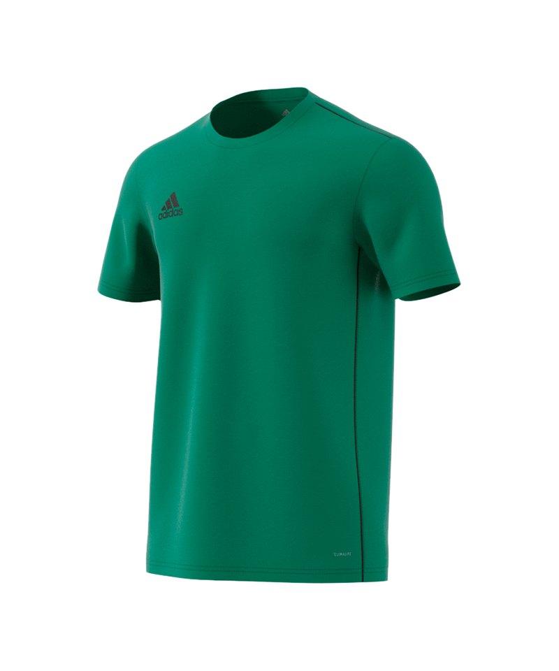 adidas Core 18 Trainingsshirt Grün Schwarz - gruen