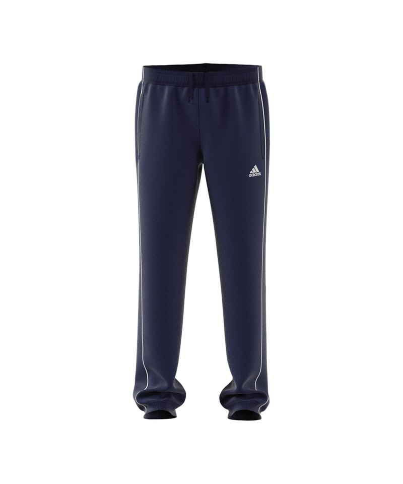 adidas Core 18 Polyesterhose Kids Blau Weiss - blau