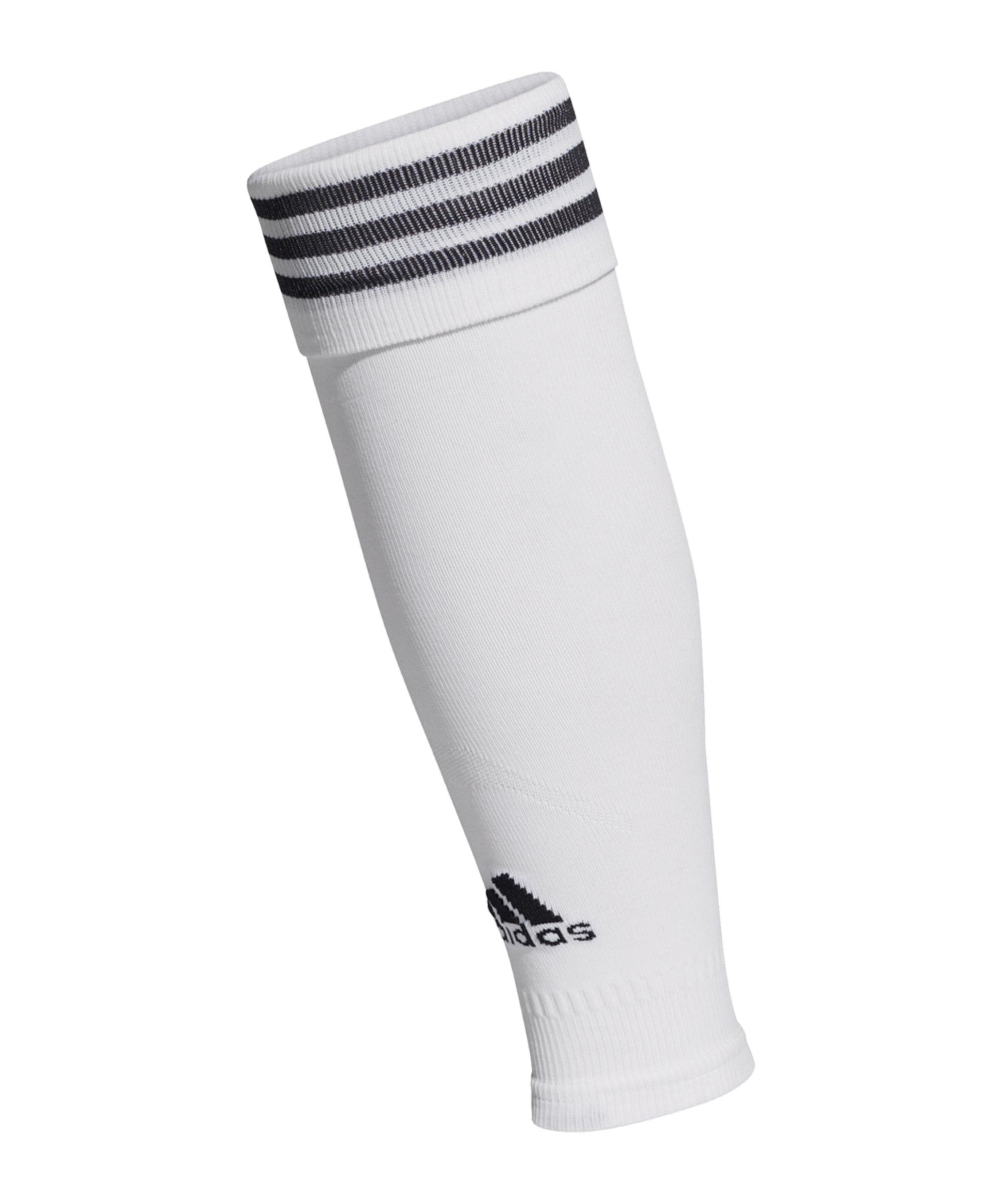 adidas Compression Sleeve Weiss Schwarz - weiss