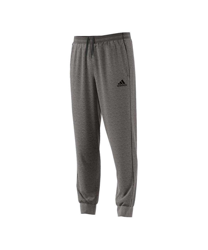 adidas Core 18 Sweat Pant Grau Schwarz - grau