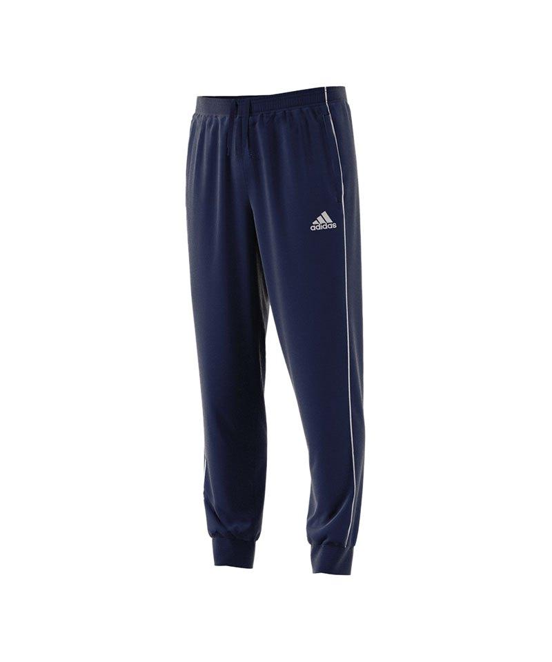 adidas Core 18 Sweat Pant Dunkelblau Weiss - blau