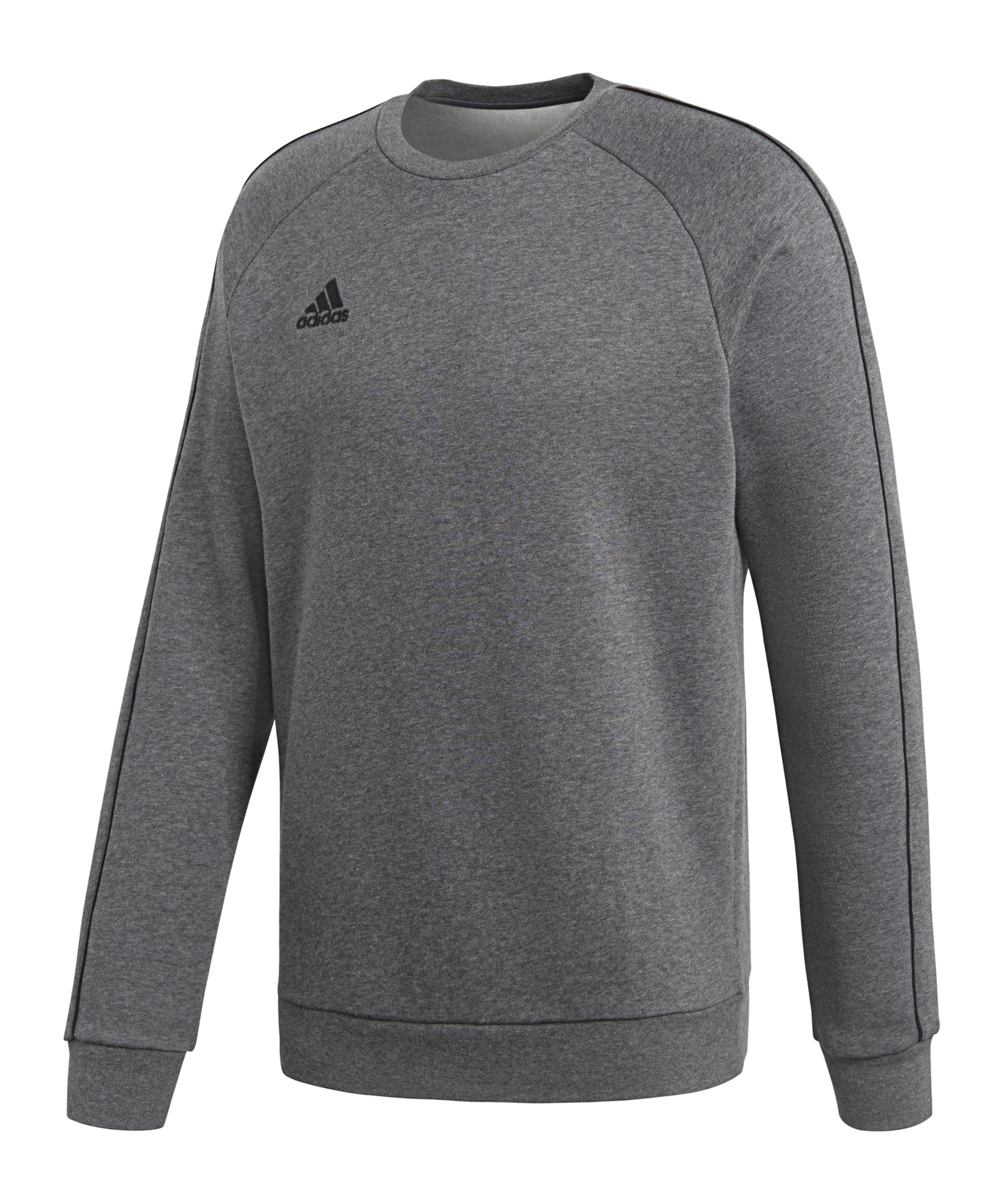 adidas Core 18 Sweat Top Grau Schwarz - grau