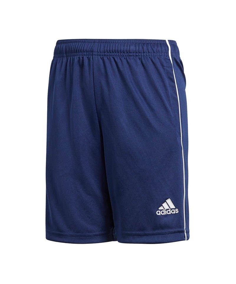 adidas Core 18 Training Short Kids Dunkelblau - blau