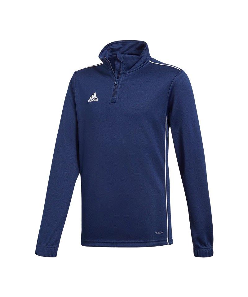 adidas Core 18 Training Top Kids Dunkelblau - blau