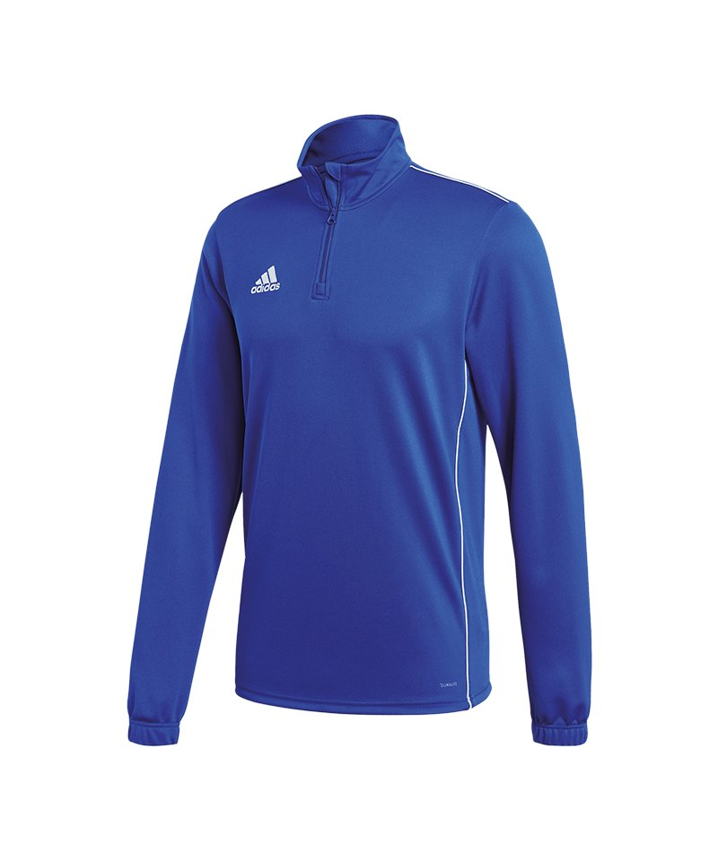 adidas Core 18 Training Top Kids Blau Weiss - blau