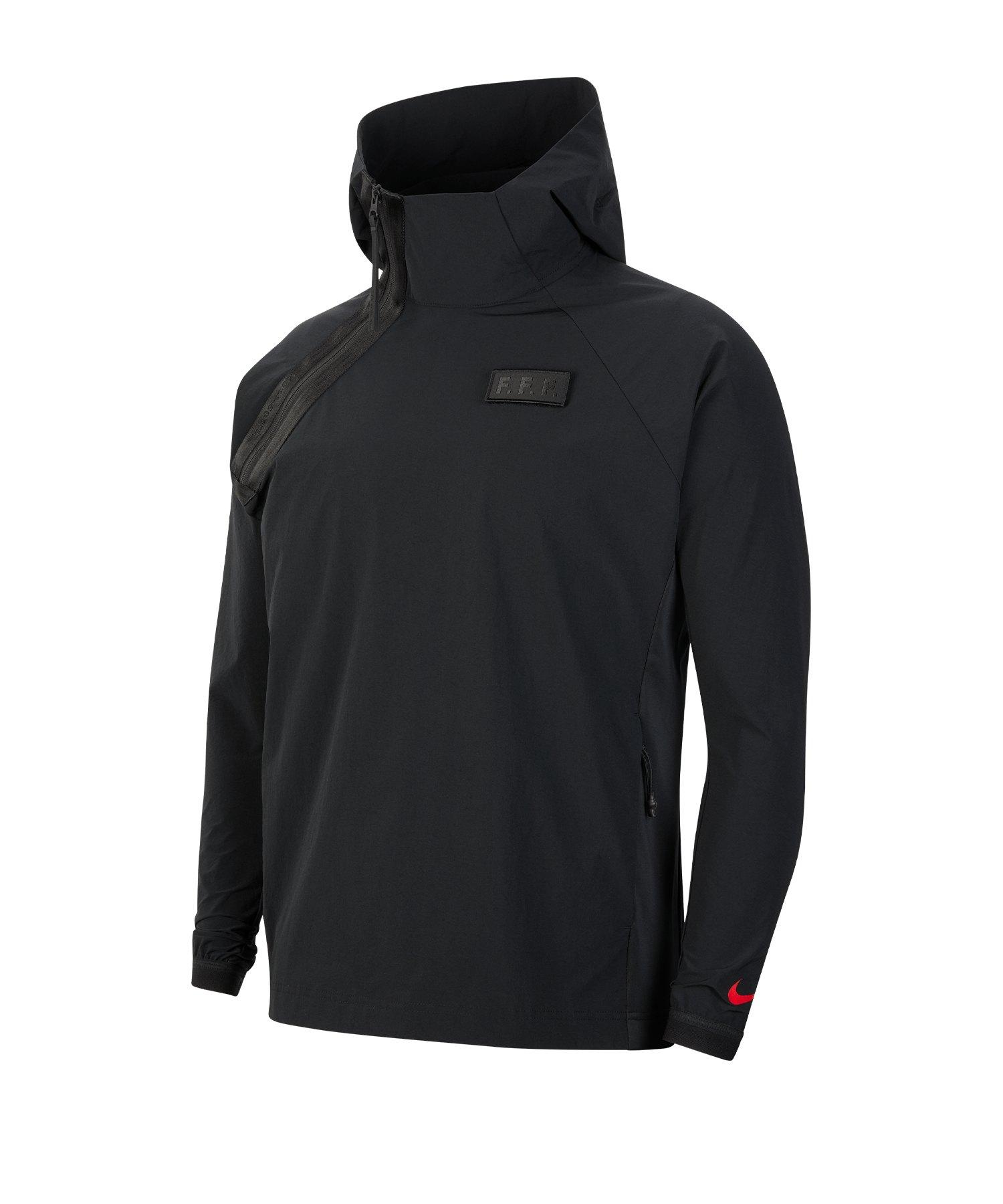 Nike Frankreich Woven Tech Pack Jacke F010 - schwarz