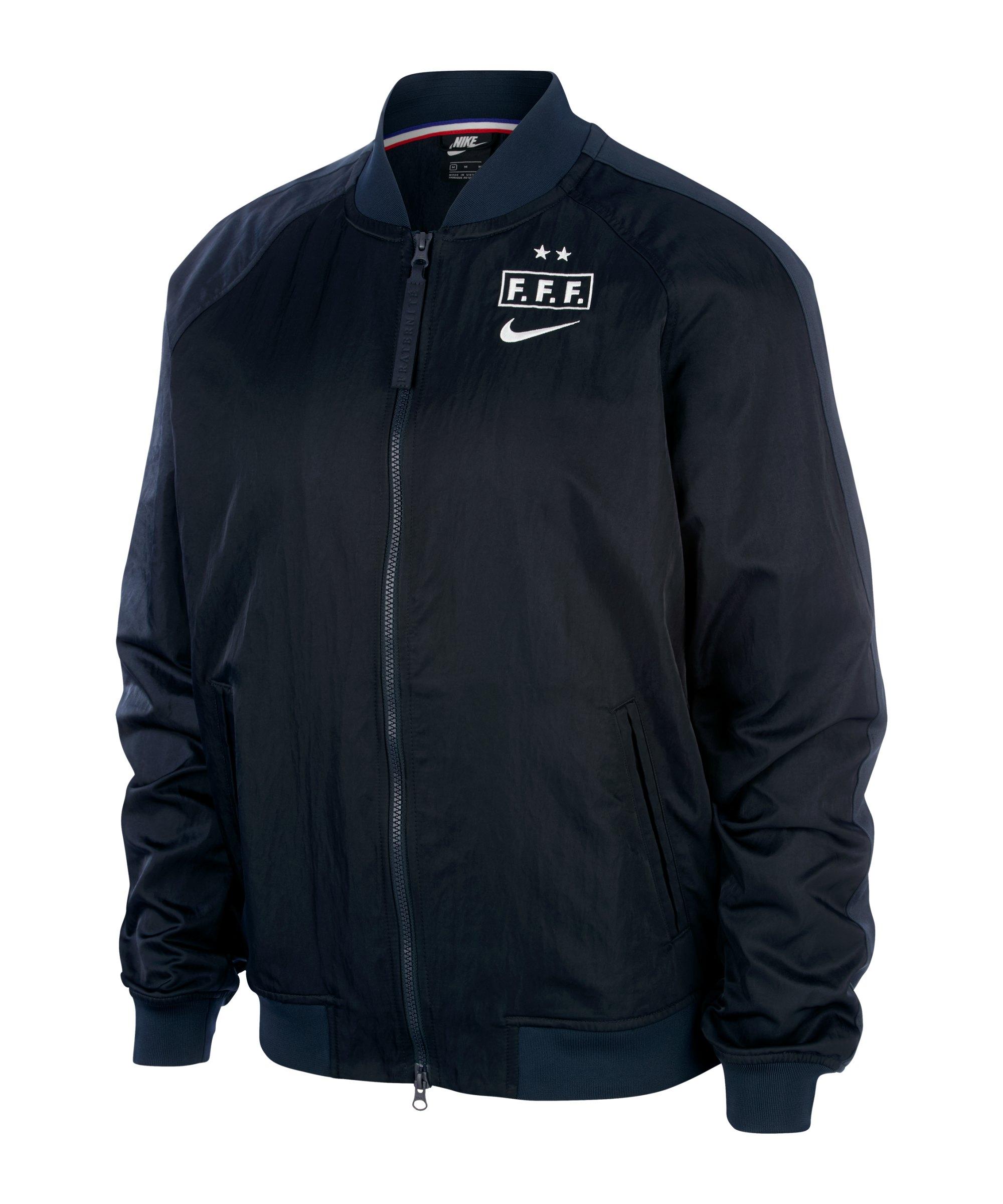 Nike Frankreich Souvenir Jacket Jacke F475 - grau