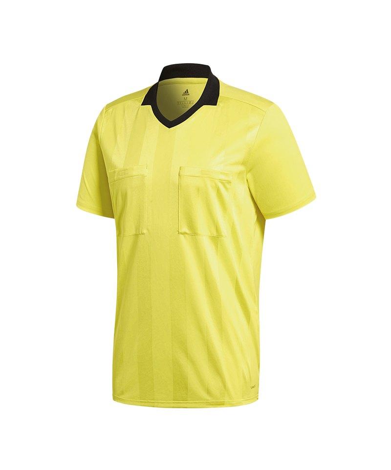 adidas Referee 18 Trikot kurzarm Gelb - gelb