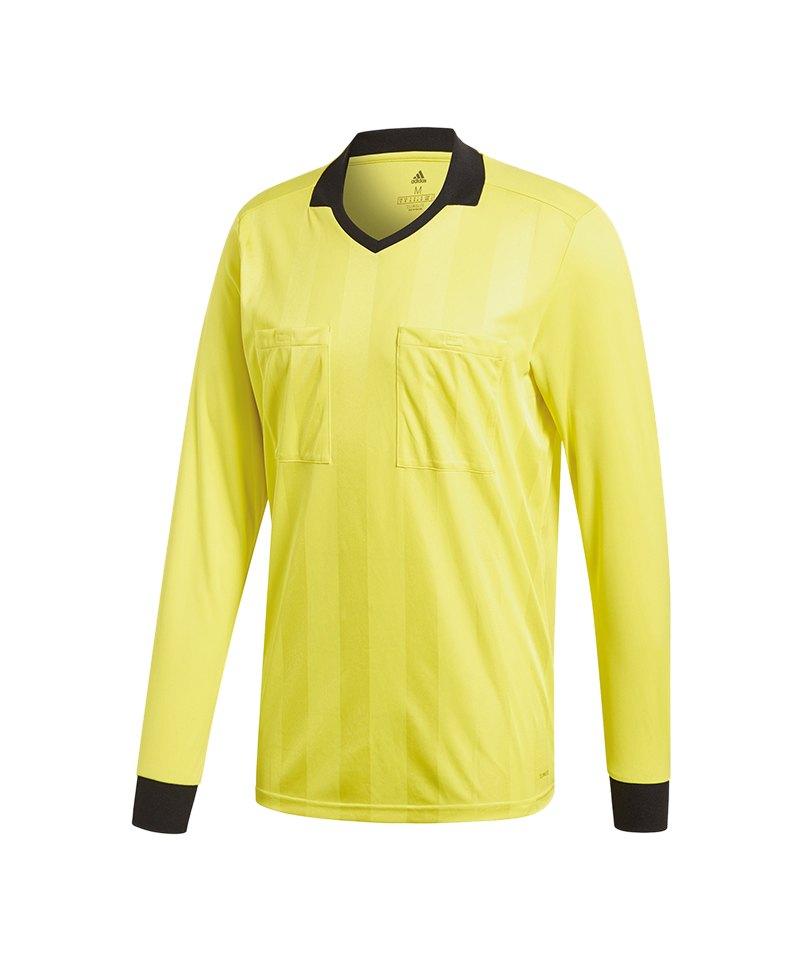 adidas Referee 18 Trikot langarm Gelb - gelb
