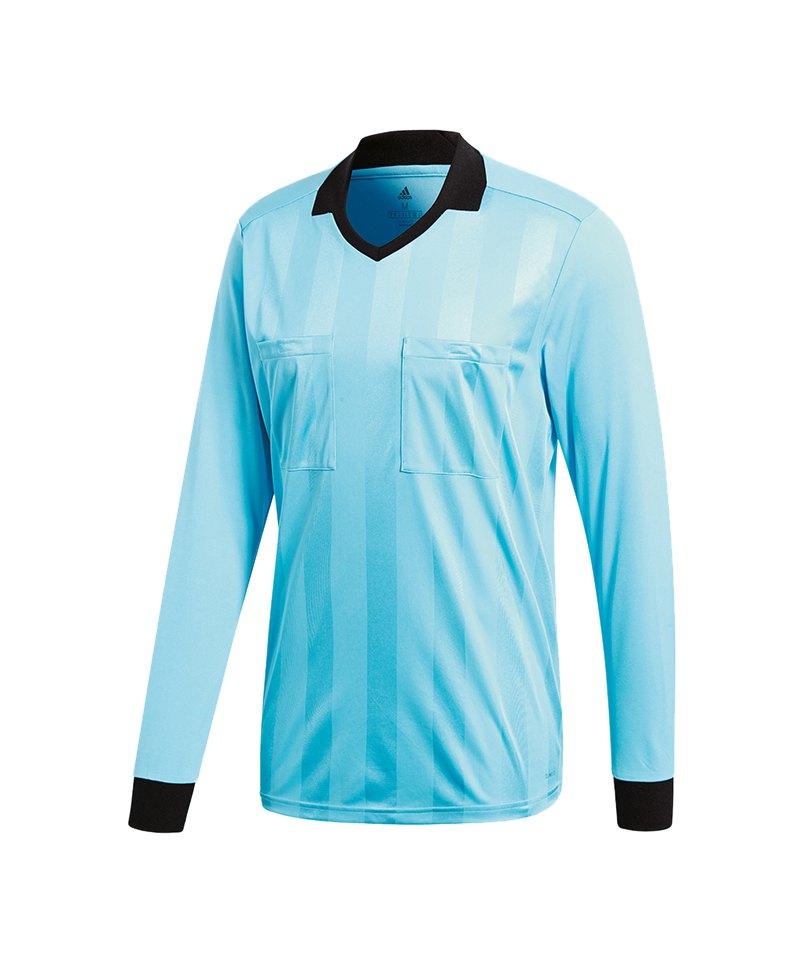 adidas Referee 18 Trikot langarm Blau - blau