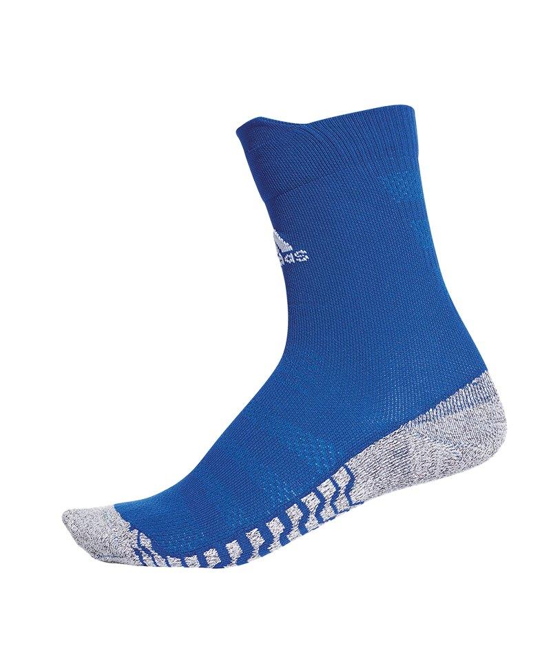 adidas Alphaskin Traxion UL Crew Socken Blau - blau
