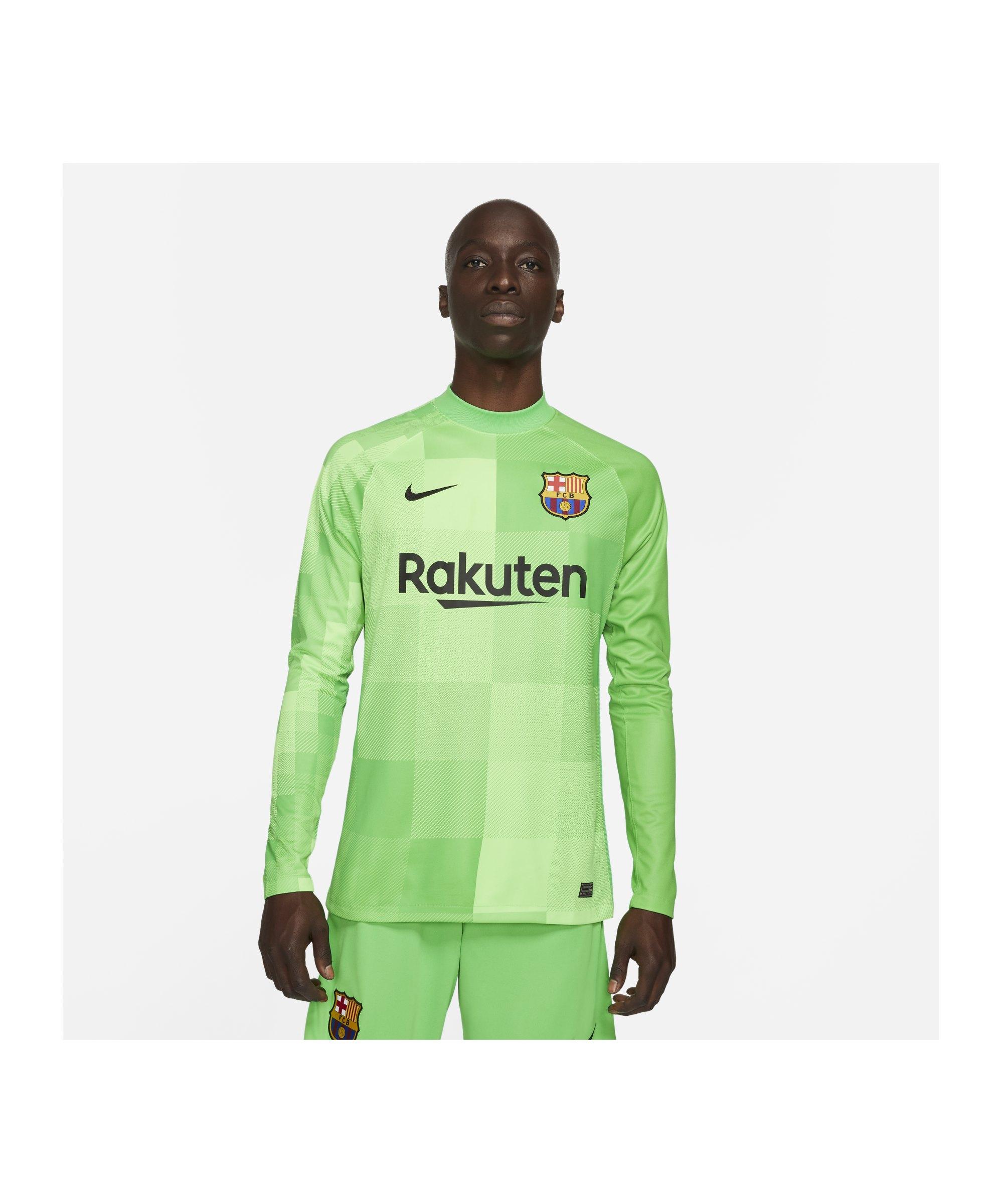 Nike FC Barcelona Torwarttrikot 2021/2022 F330 - gruen