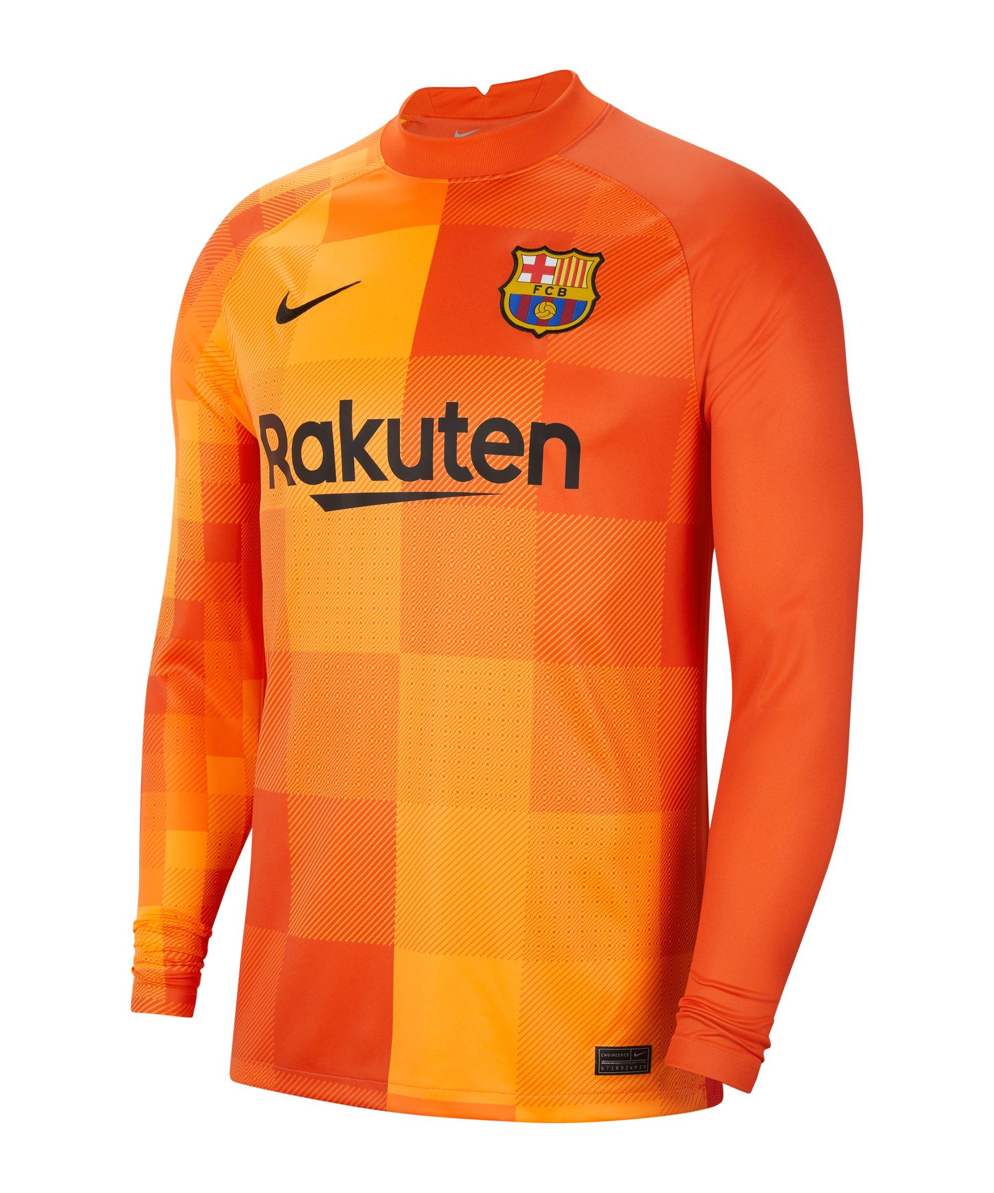 Nike FC Barcelona Torwarttrikot 2021/2022 F838 - orange